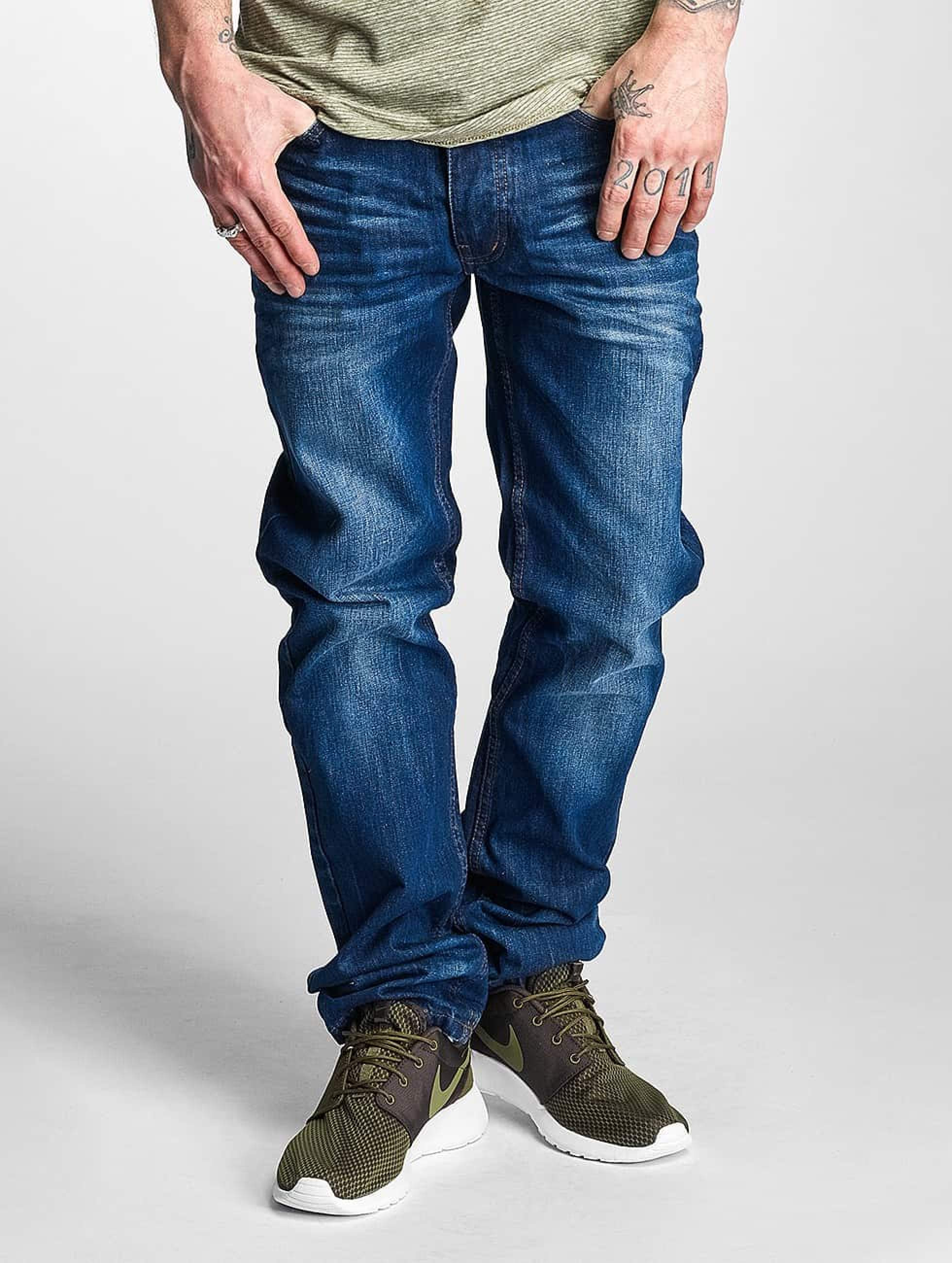 Rocawear / Straight Fit Jeans Relaxed in blue W 40