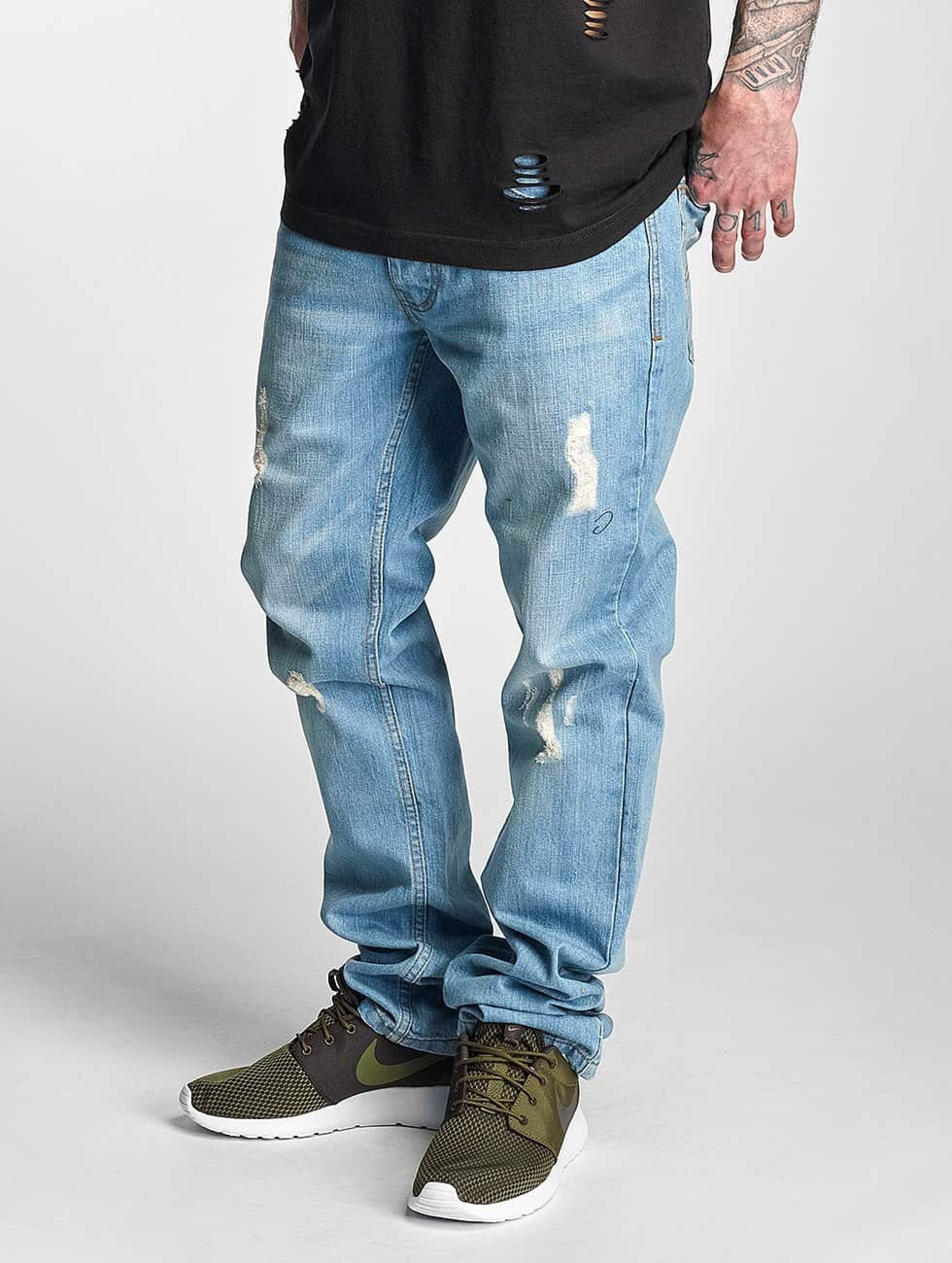 Rocawear / Straight Fit Jeans Relaxed in blue W 30