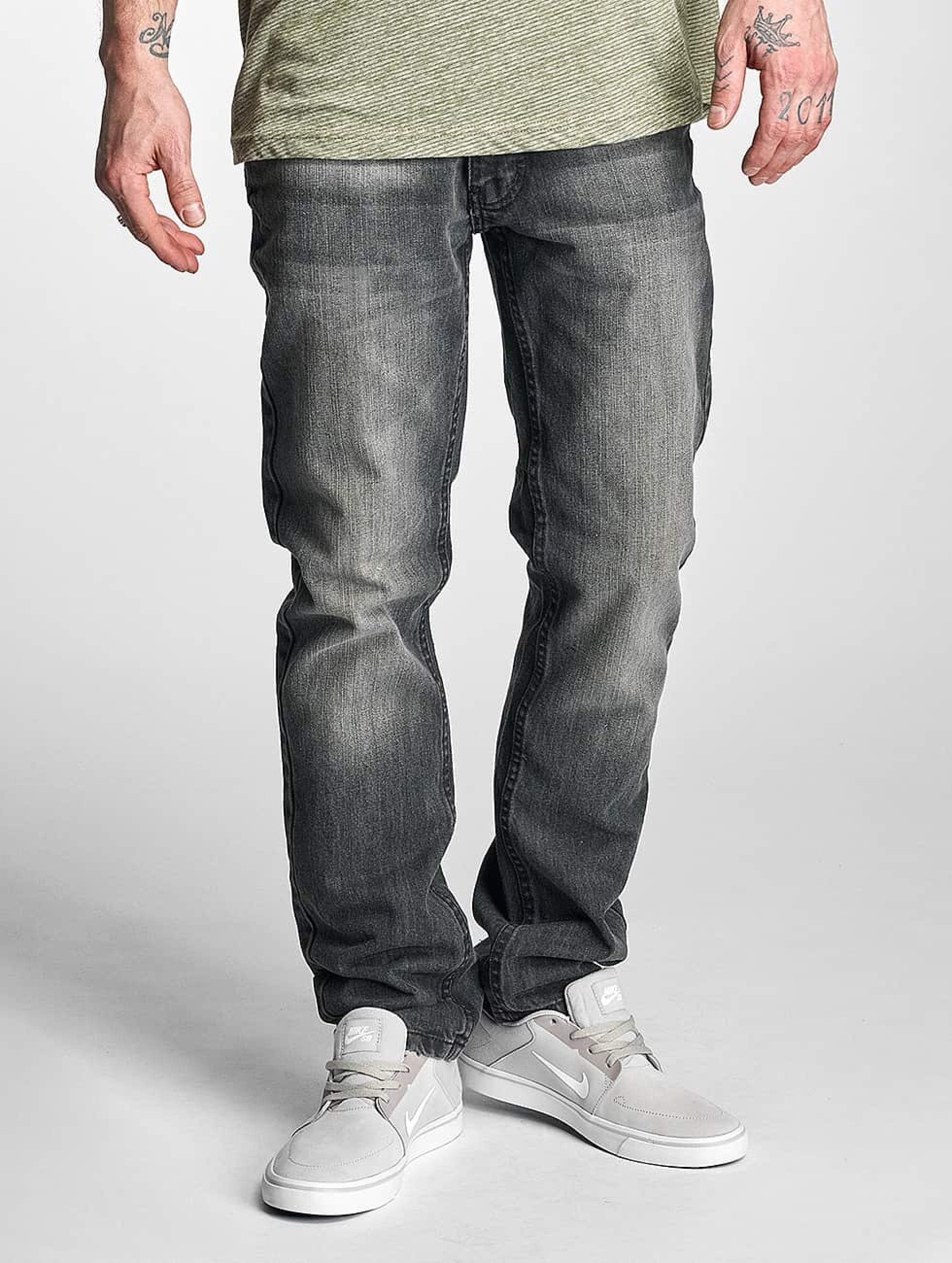 Rocawear / Straight Fit Jeans Relaxed in grey W 38
