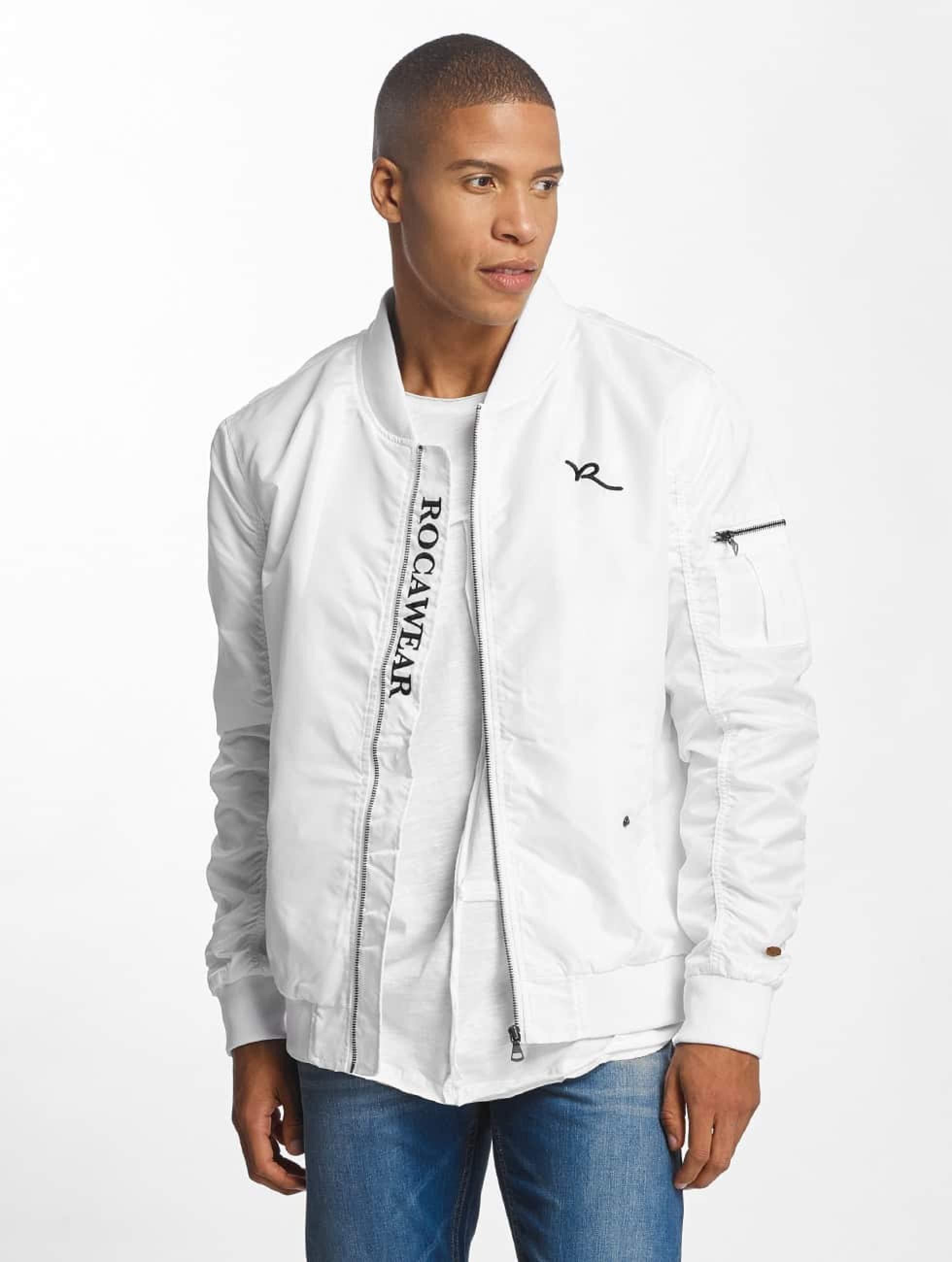 Rocawear / Bomber jacket Dariusz in white S