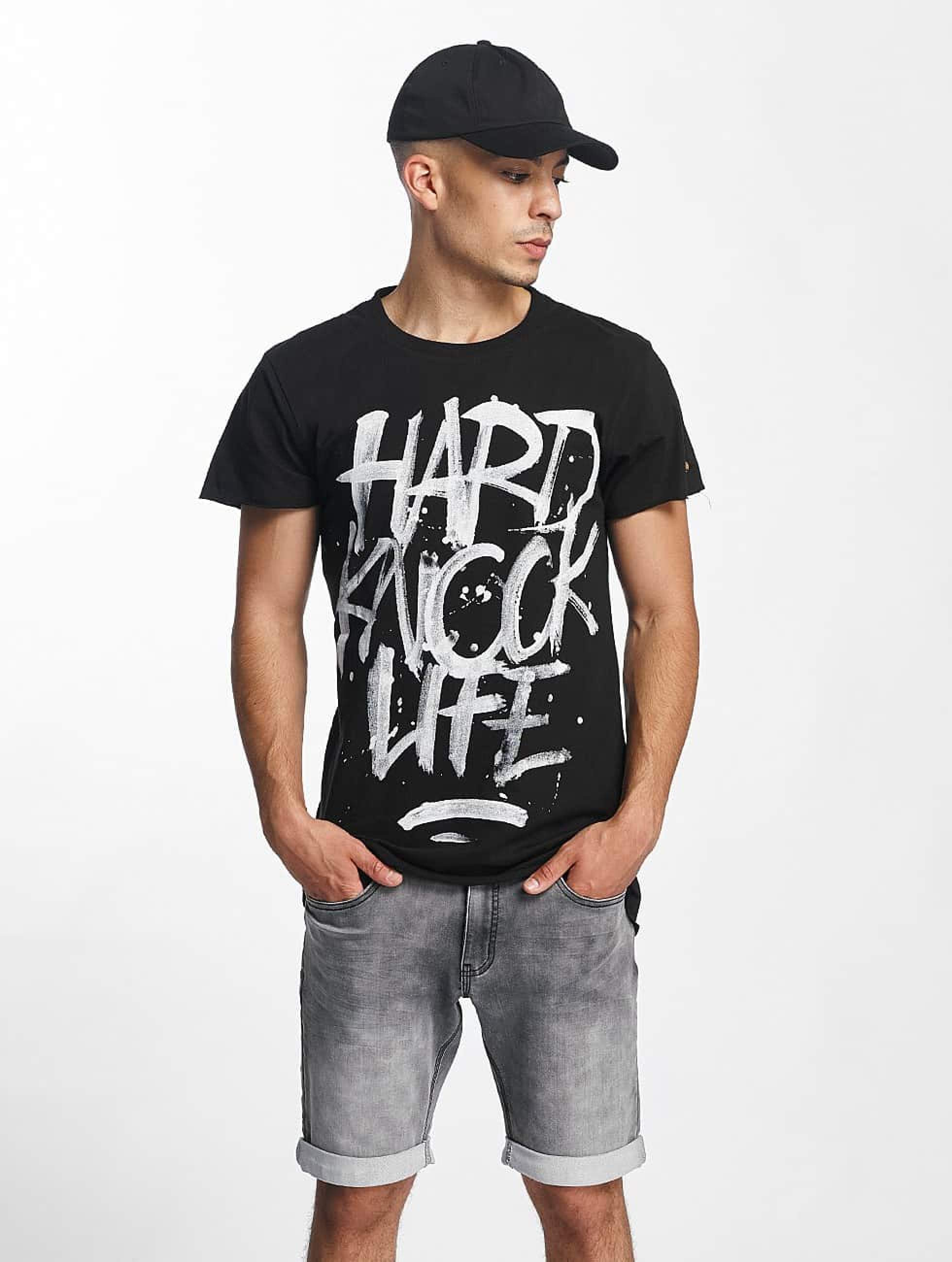 Rocawear / T-Shirt Hard Knock Life in black S