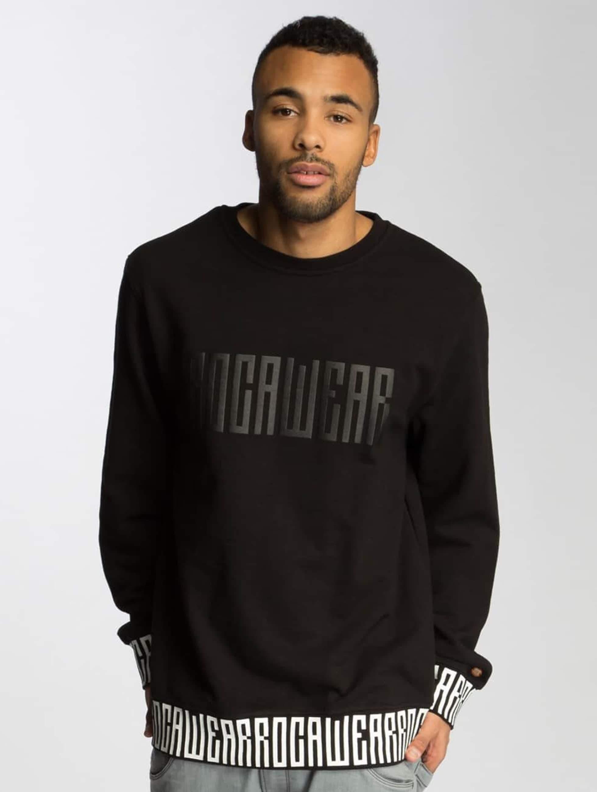 Rocawear / Jumper Print in black XL