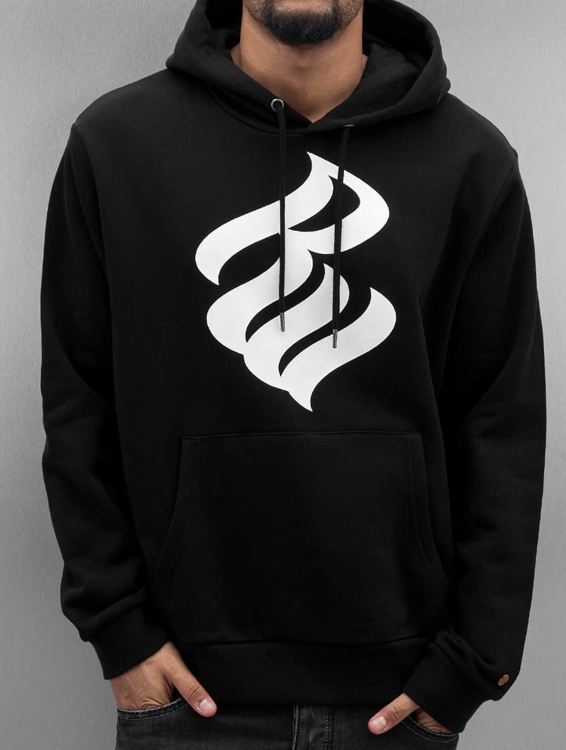 Rocawear / Hoodie Fleece in black S
