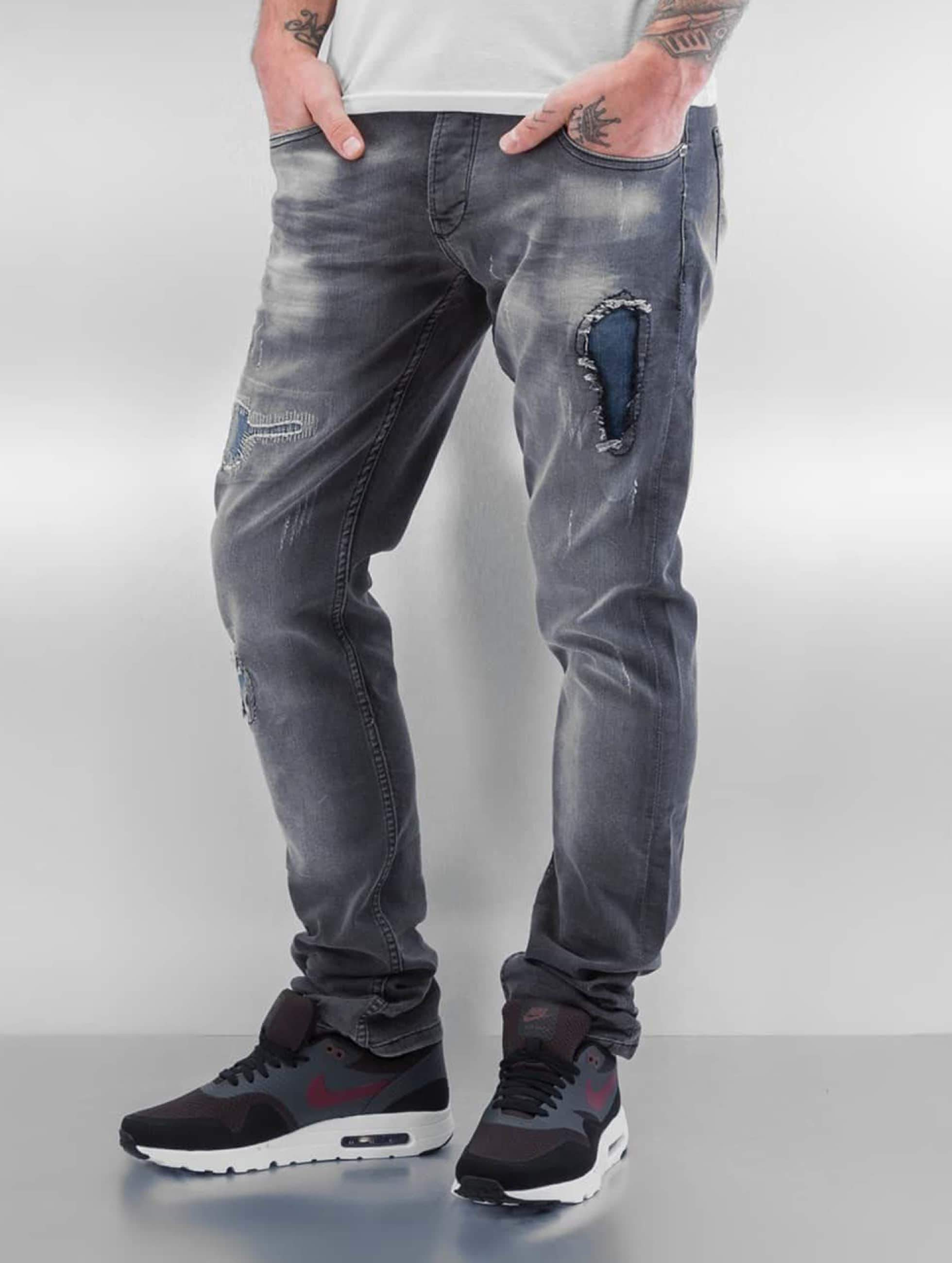 2Y / Slim Fit Jeans Zadar in grey W 32
