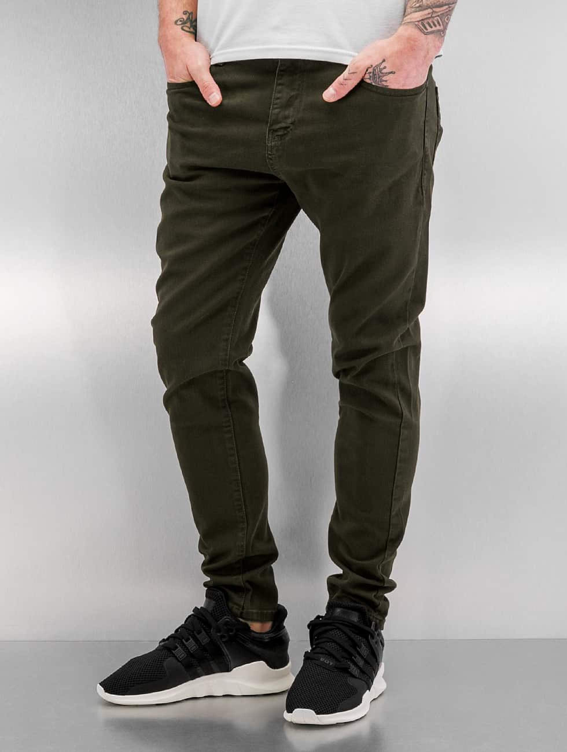 Bangastic / Slim Fit Jeans Burundi in olive W 38
