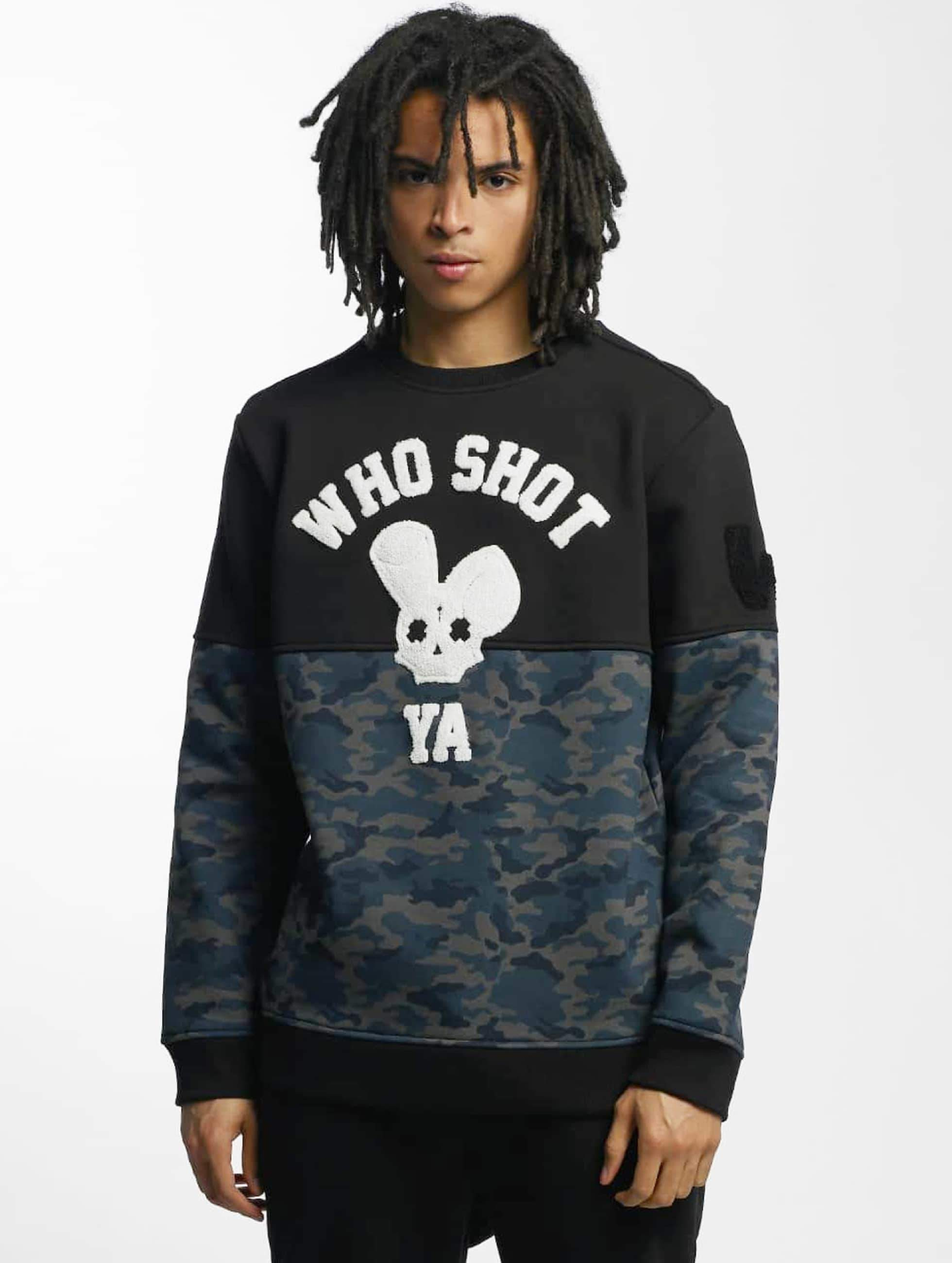 Who Shot Ya? / Jumper Darkcamou in black L