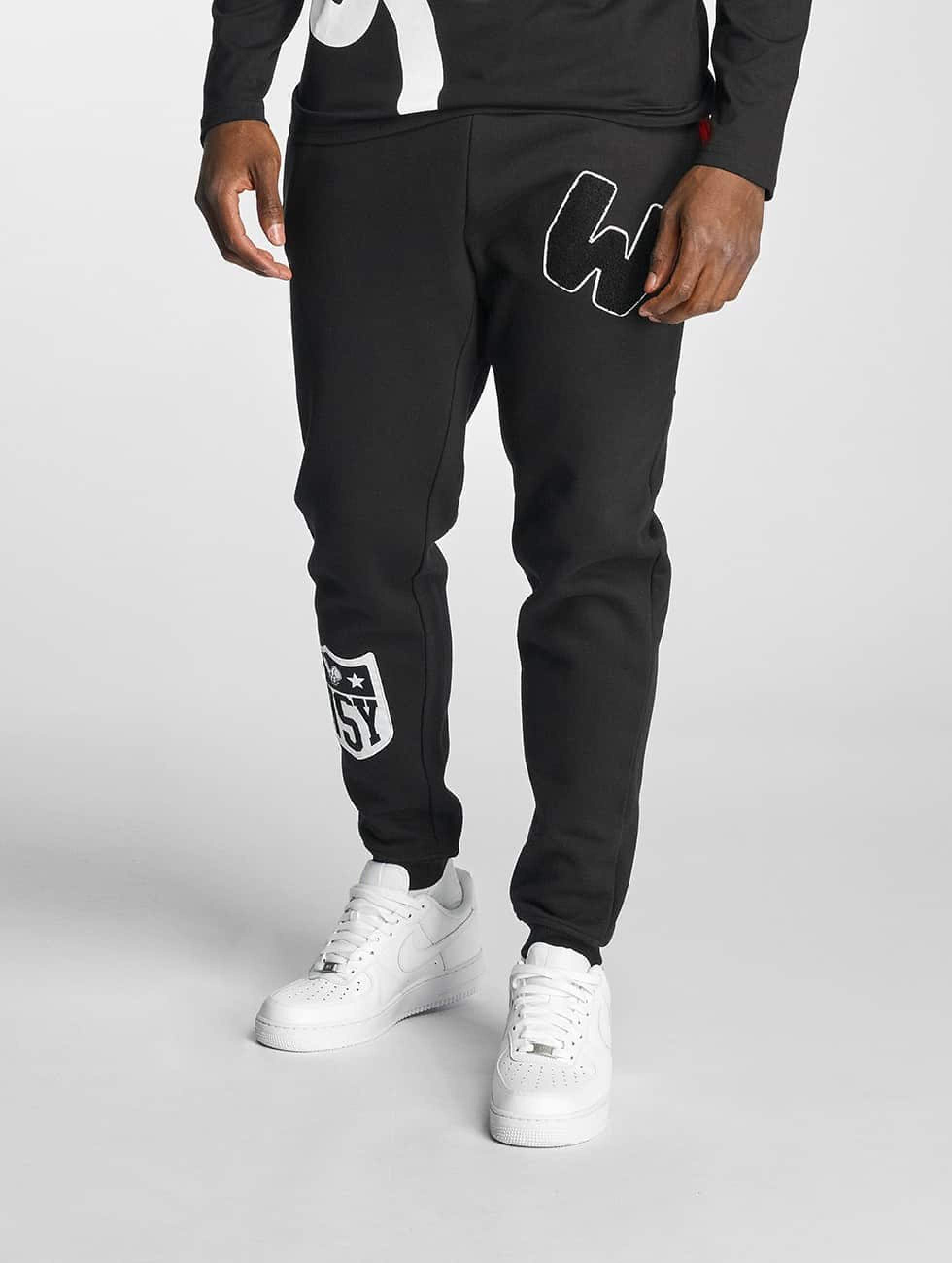 Who Shot Ya? / Sweat Pant Badrabbit in black 2XL