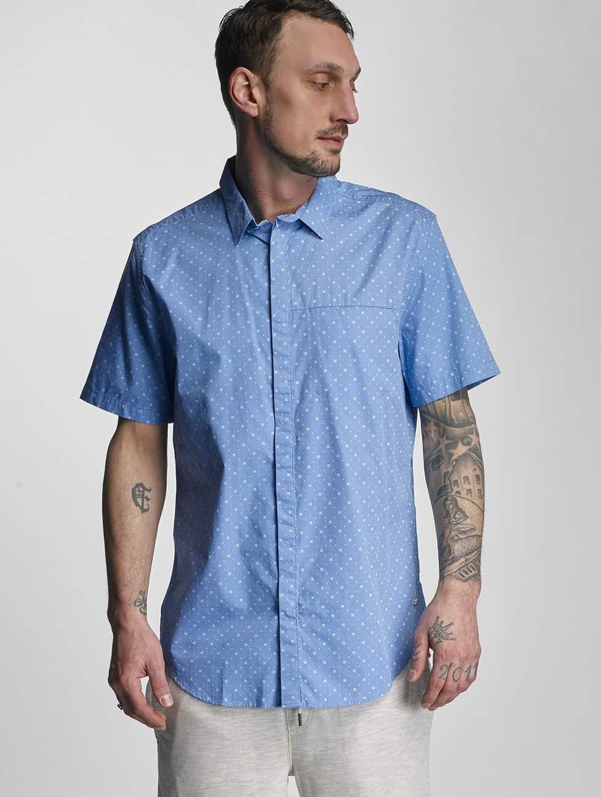 Bench Männer Hemd Tile Aop in blau