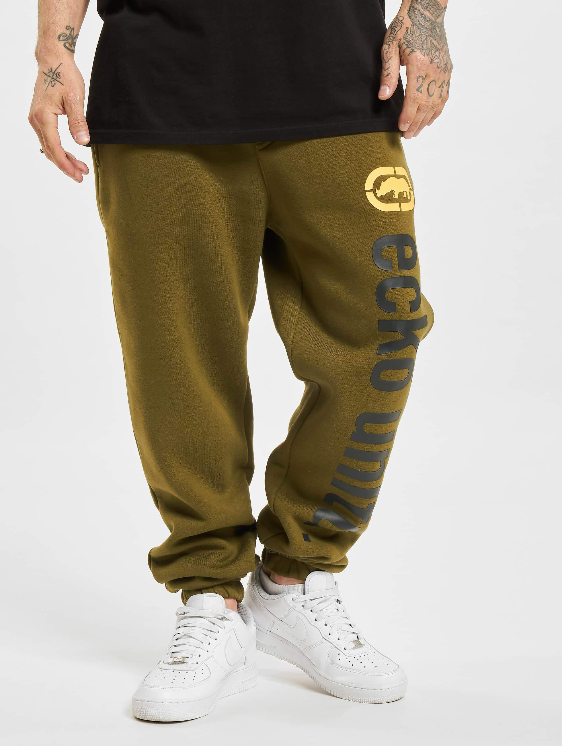 Ecko Unltd. / Sweat Pant 2Face in olive 3XL
