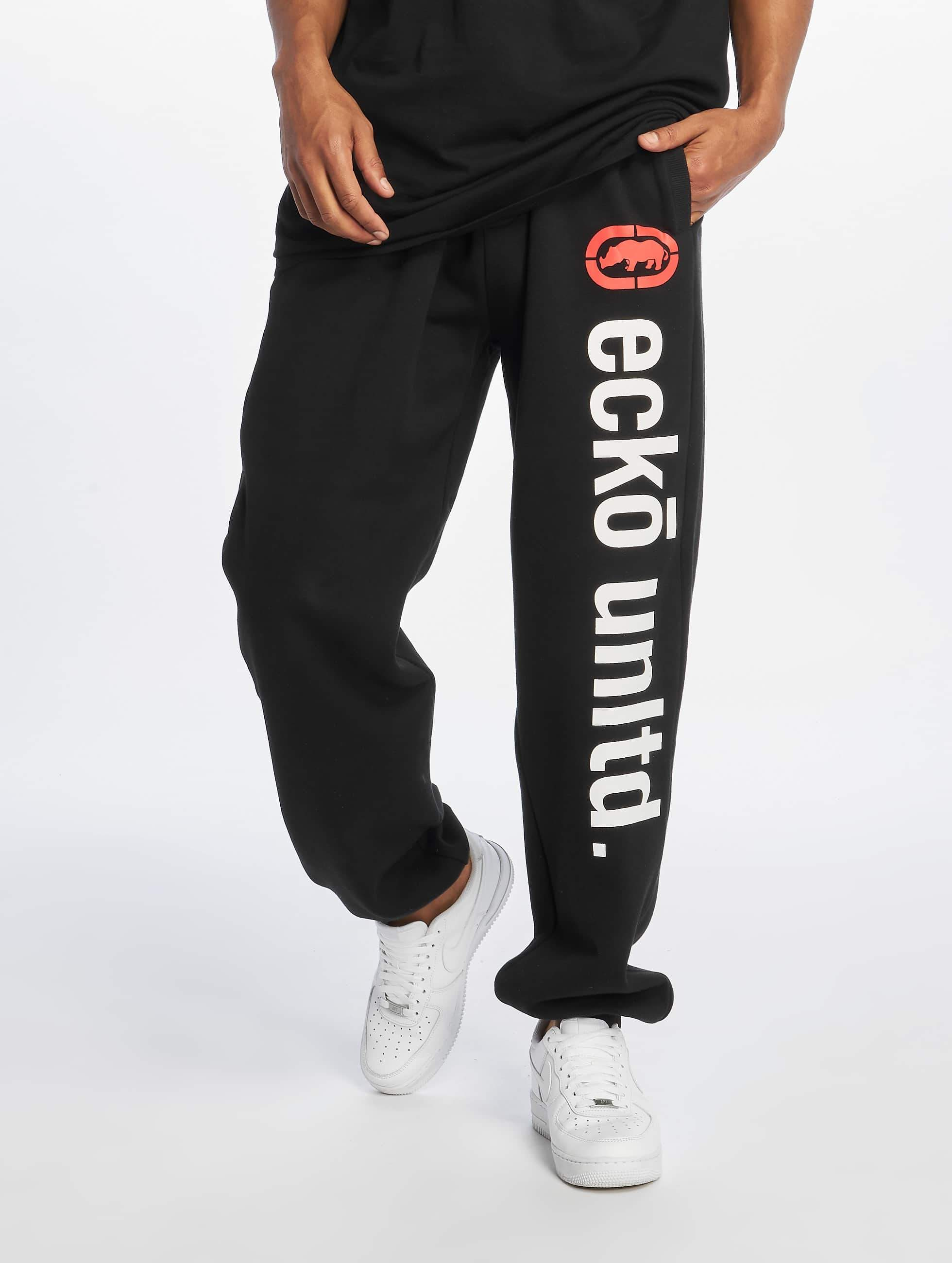 Ecko Unltd. / Sweat Pant 2Face in black 4XL