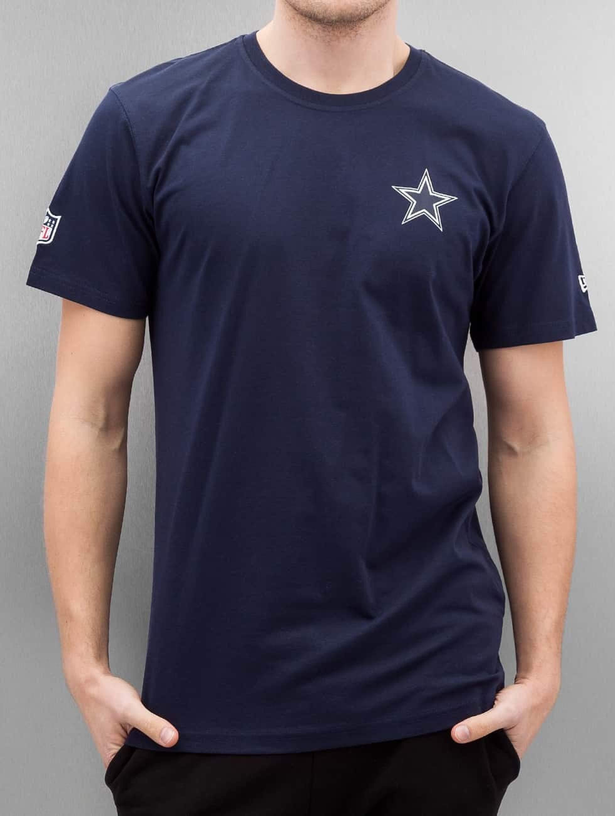 New Era Männer T-Shirt Team Apparel in blau