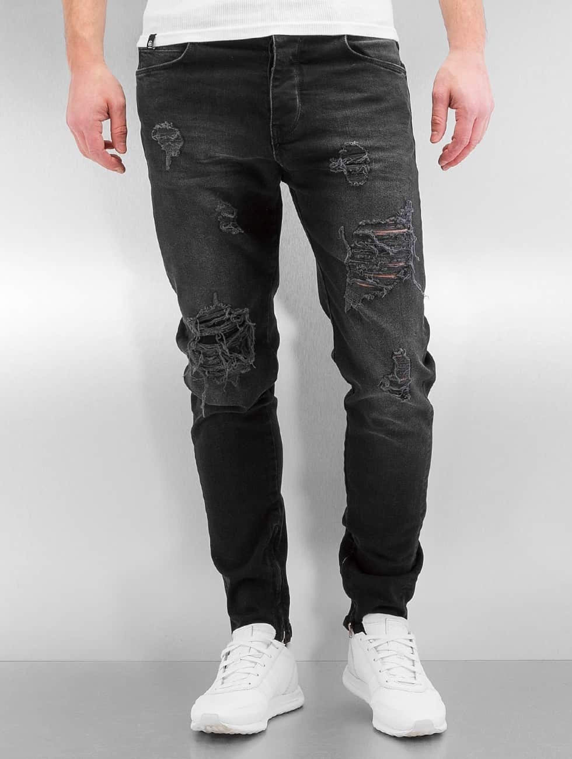 Bangastic / Slim Fit Jeans K125 in black W 31