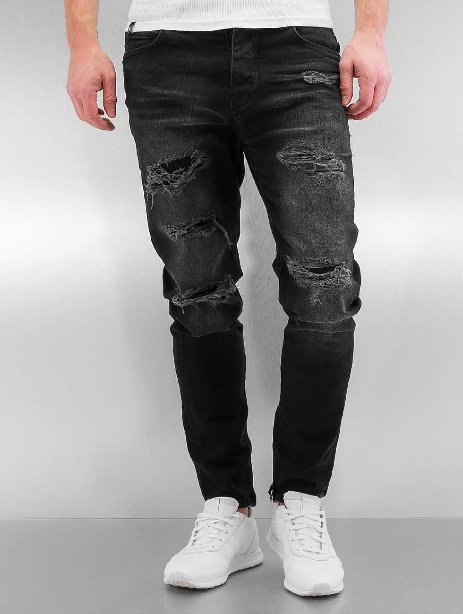 Bangastic / Slim Fit Jeans K125 in black W 32