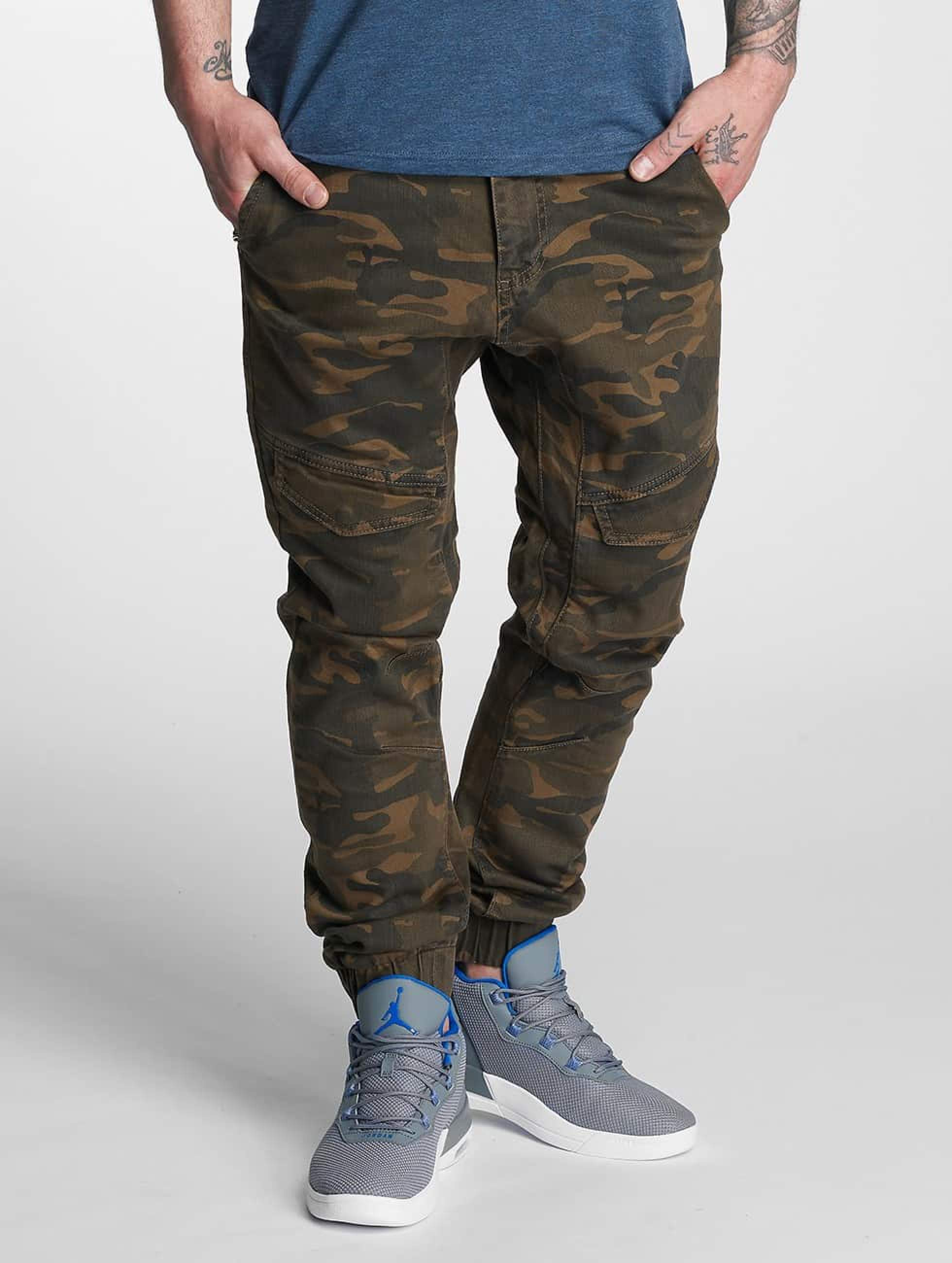 Dangerous DNGRS / Slim Fit Jeans Noray in camouflage W 33