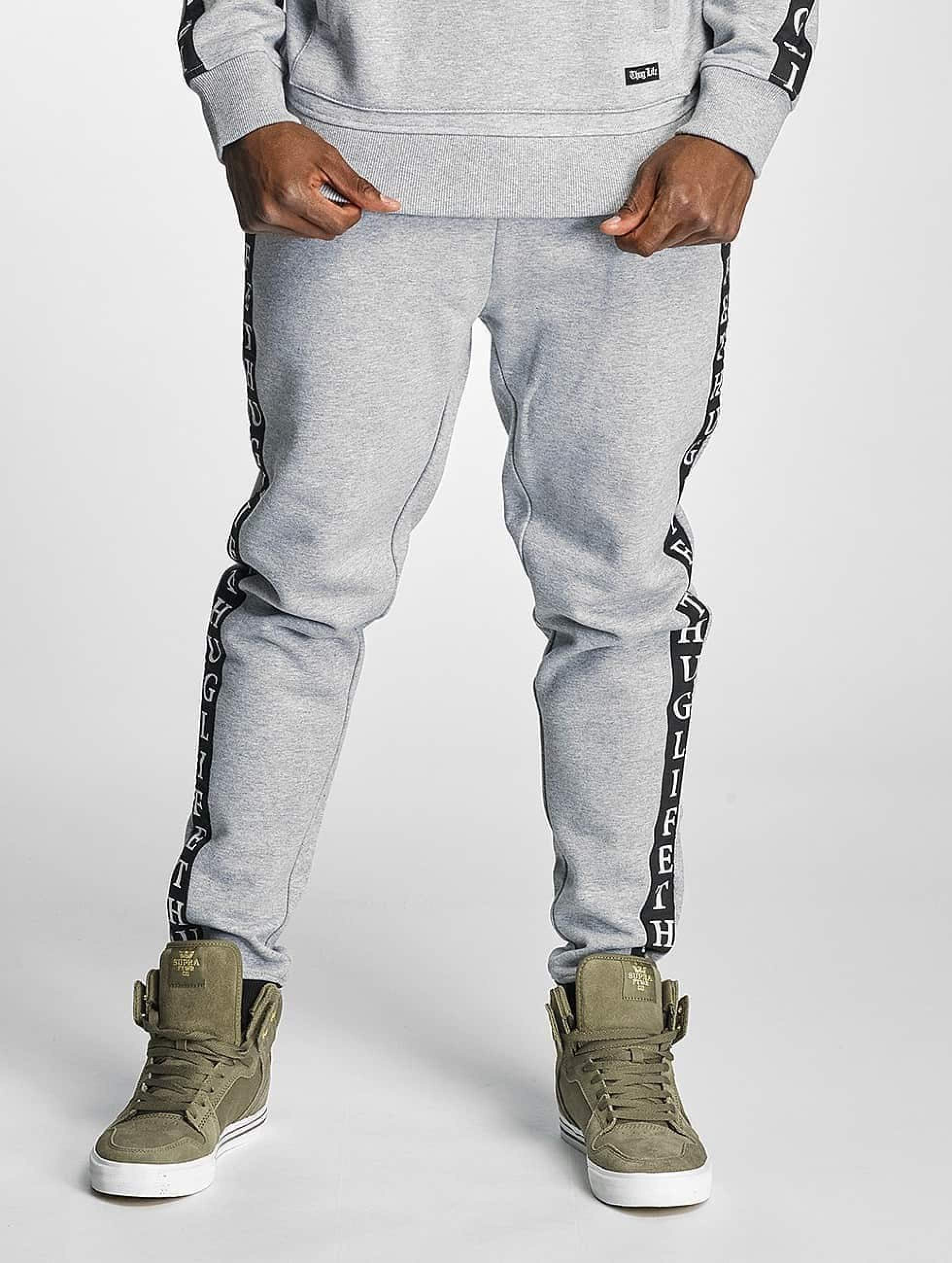 Thug Life / Sweat Pant Wired in grey L