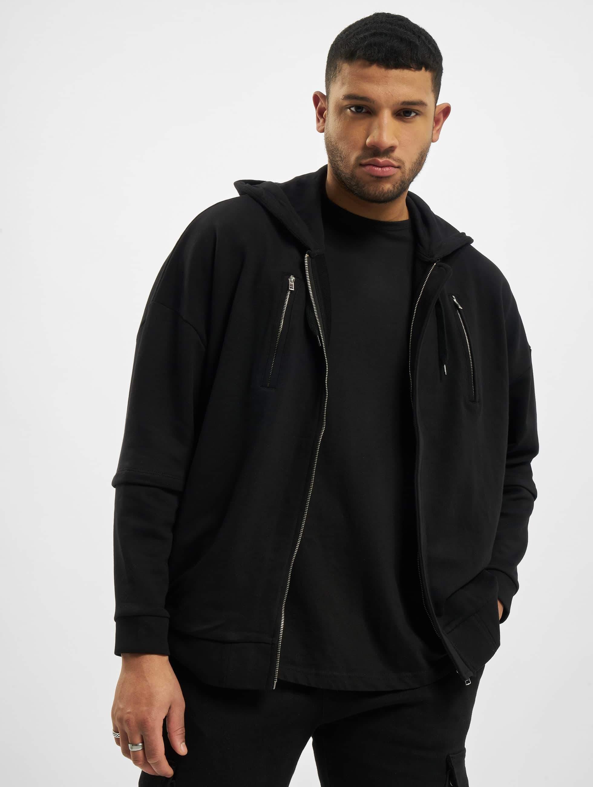 Bangastic / Zip Hoodie AE463 Oversize in black L