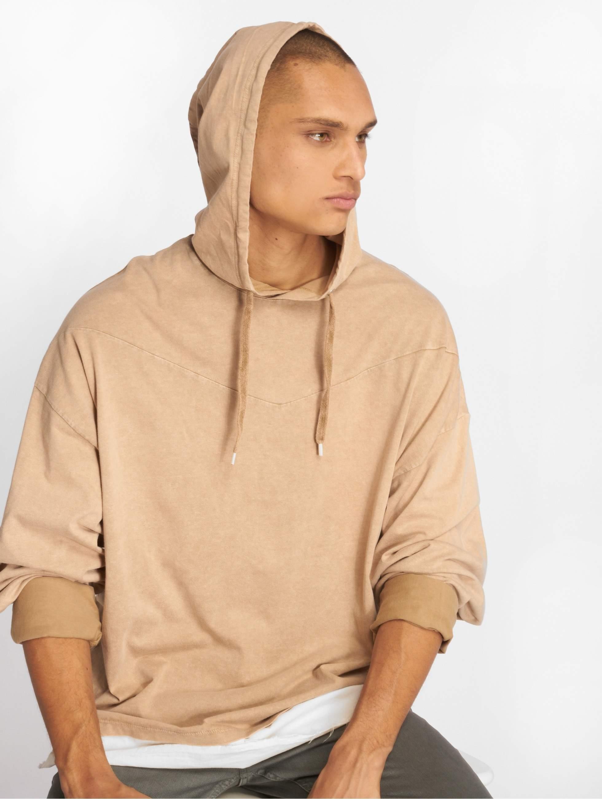Bangastic / Hoodie Blunde Oversize in beige XL
