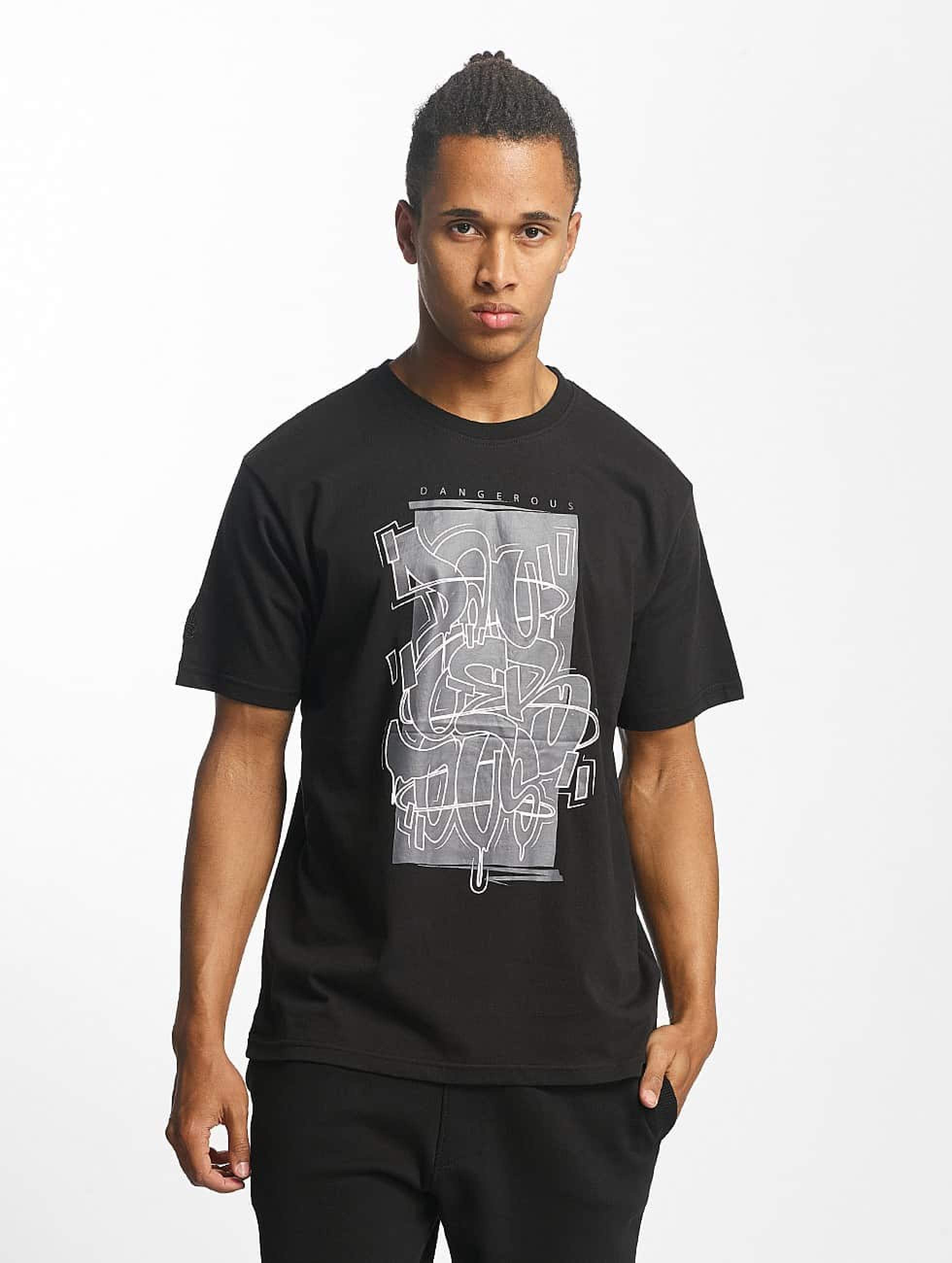 Dangerous DNGRS / T-Shirt Moik Style in black S
