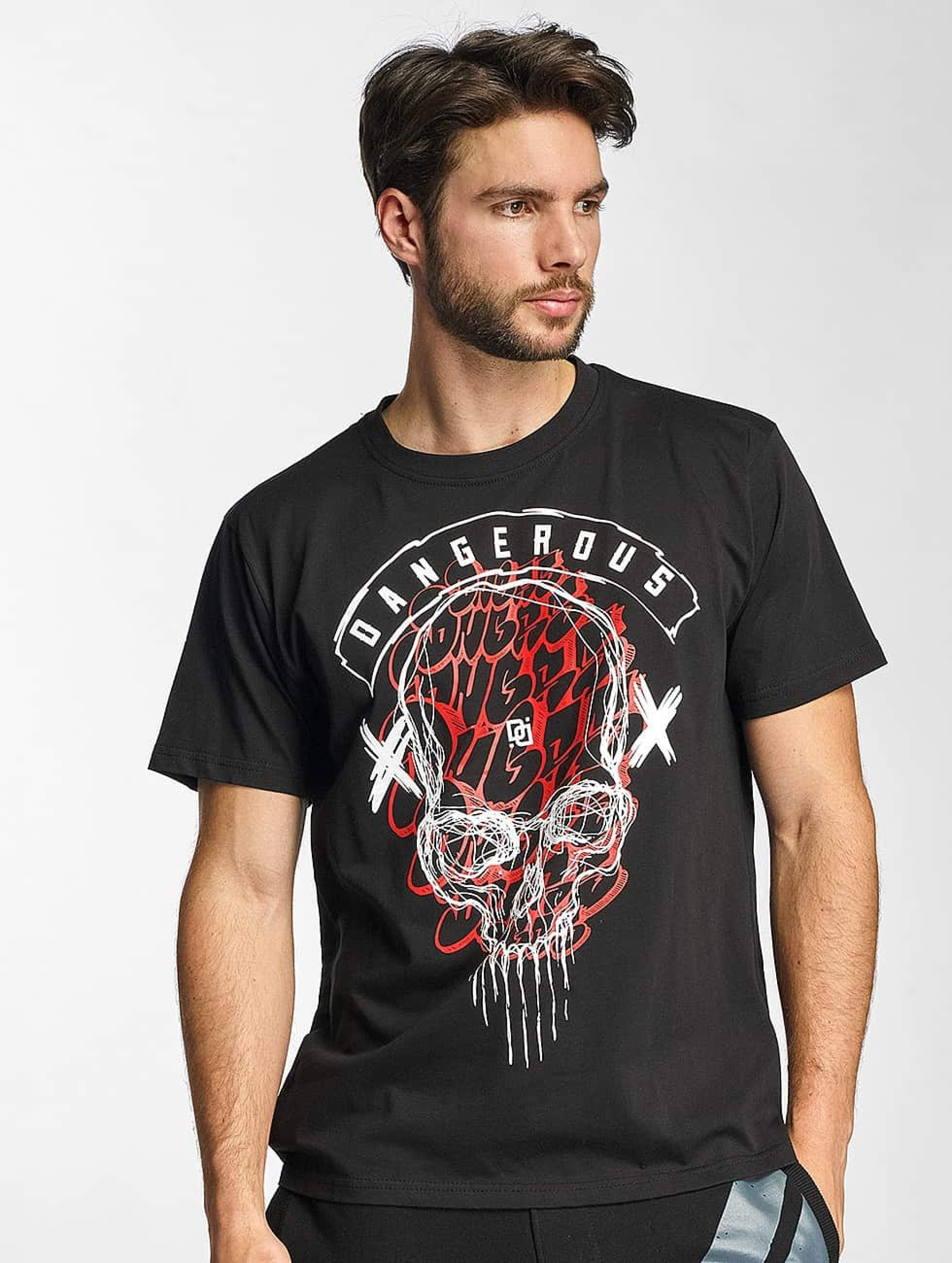Dangerous DNGRS / T-Shirt Skull in black S