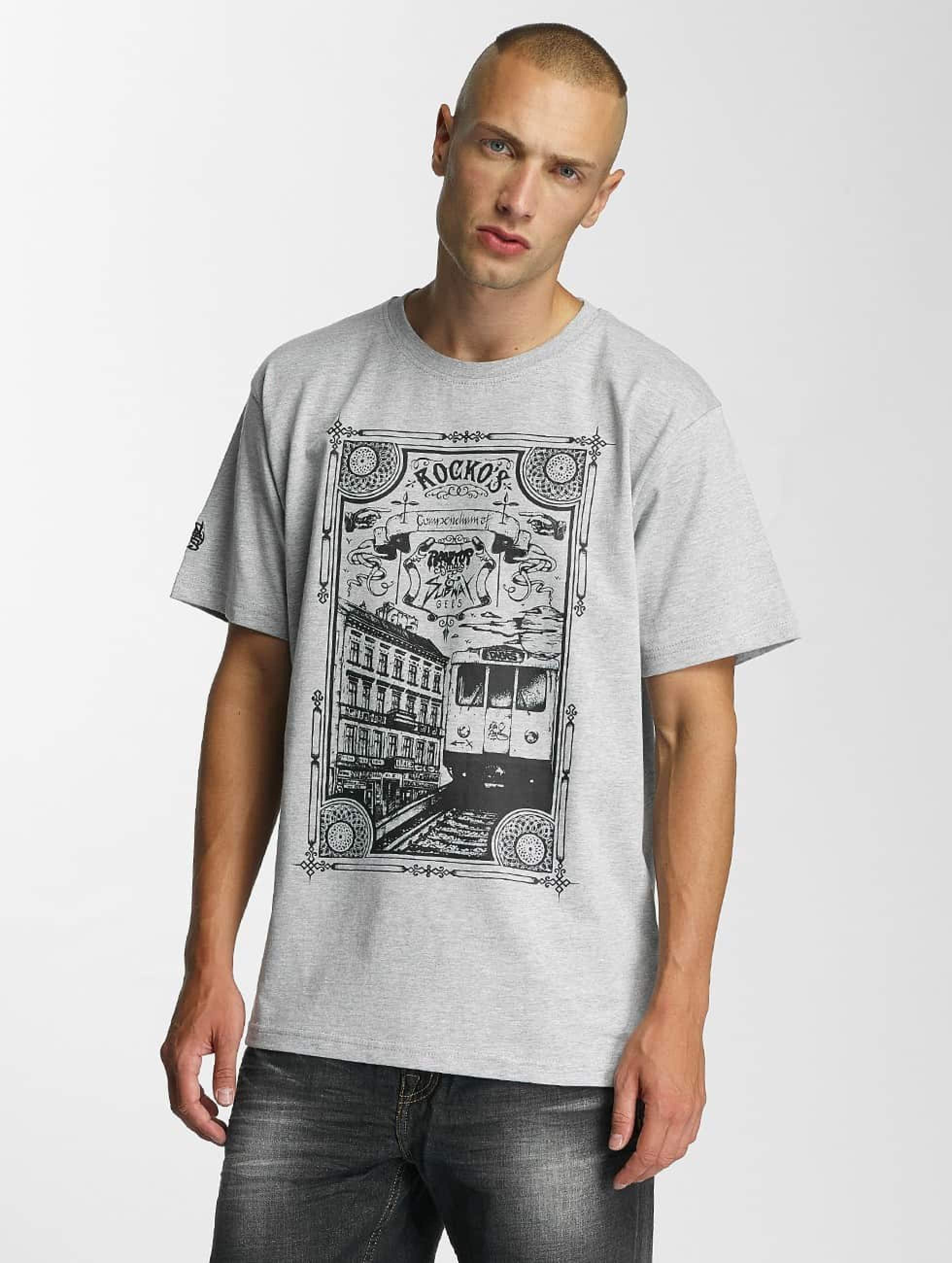 Dangerous DNGRS / T-Shirt Rocco Kingstyle in grey S