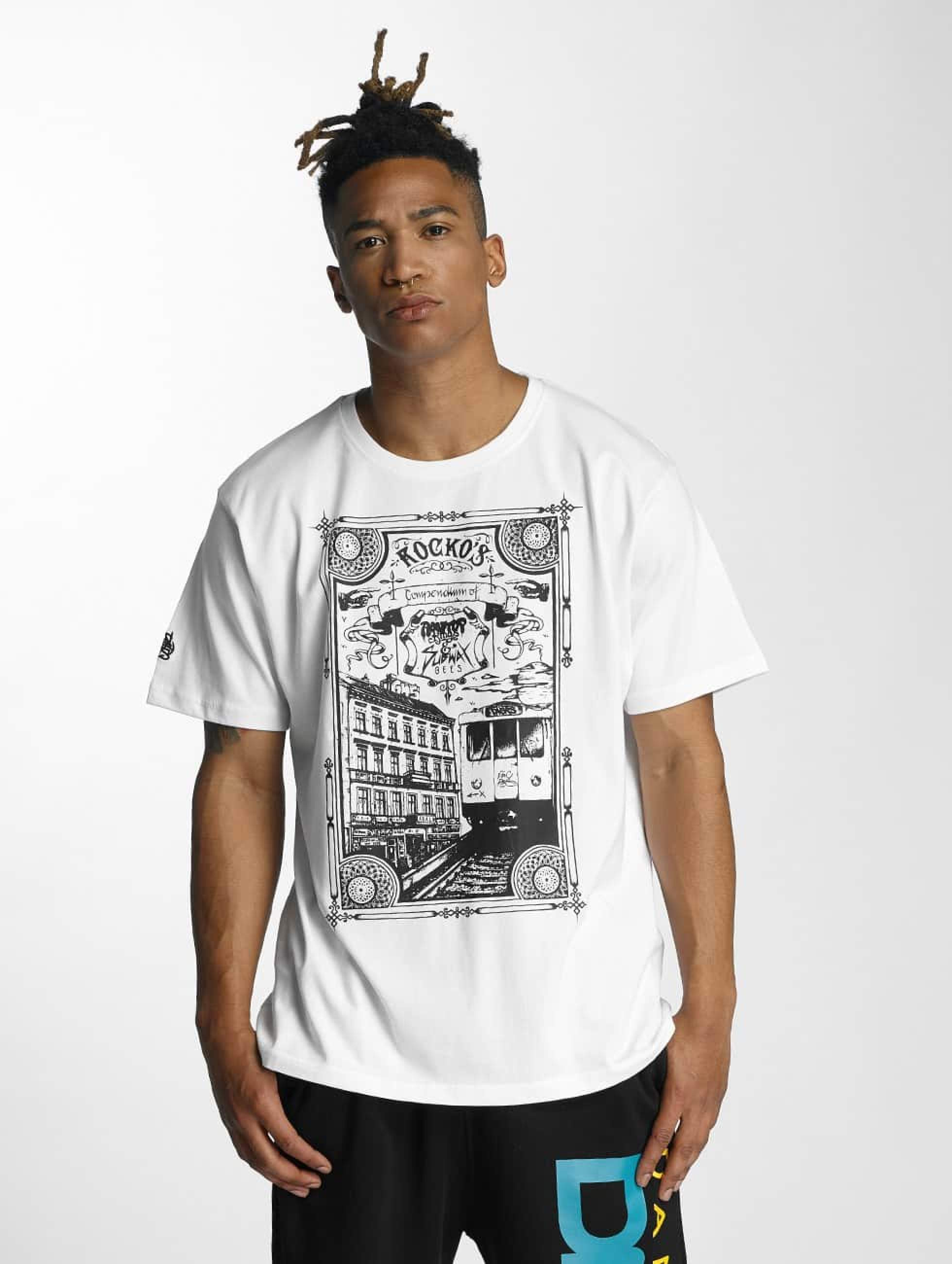 Dangerous DNGRS / T-Shirt Rocco Kingstyle in white S
