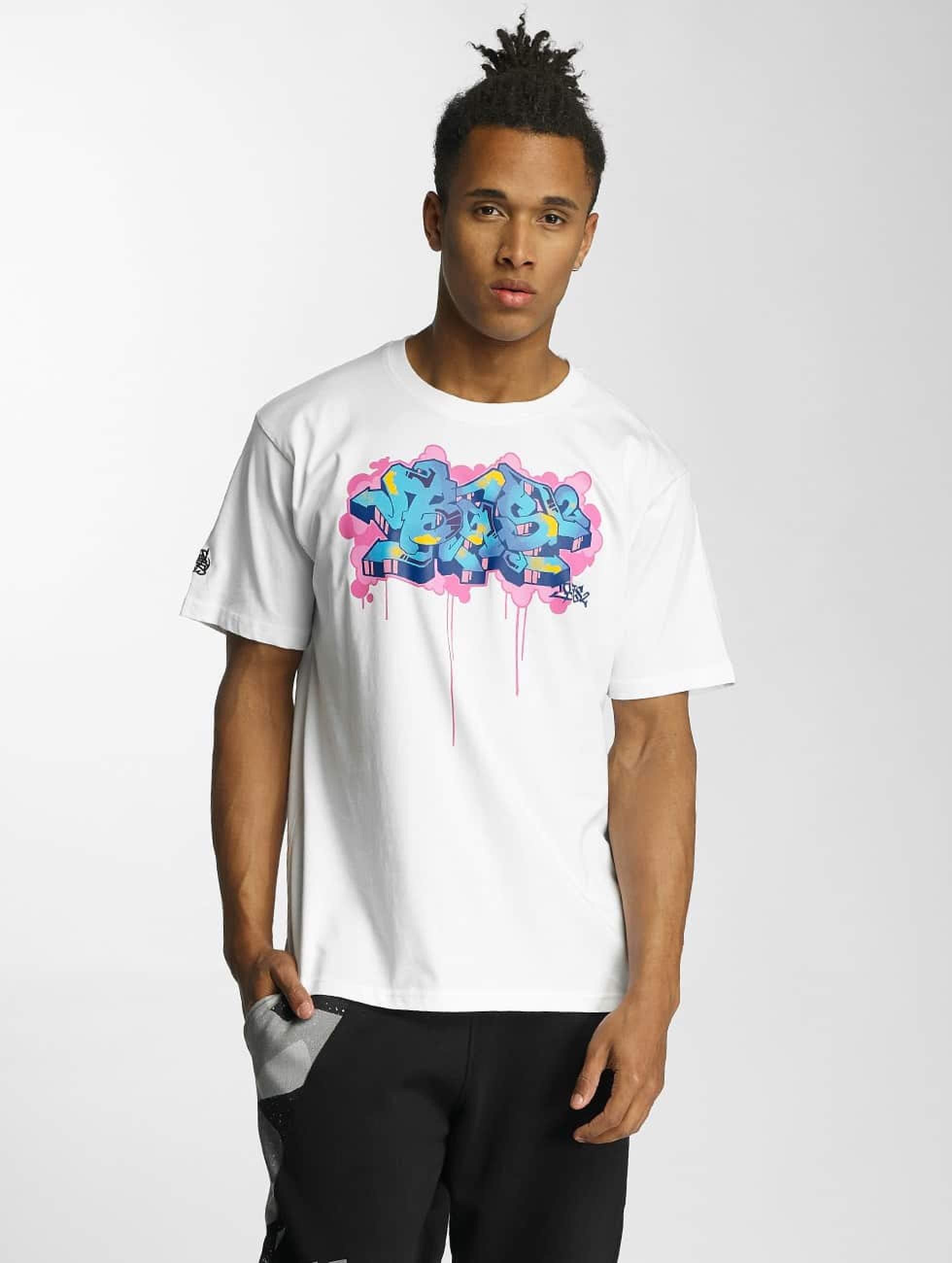 Dangerous DNGRS / T-Shirt Bas2 Style in white 5XL