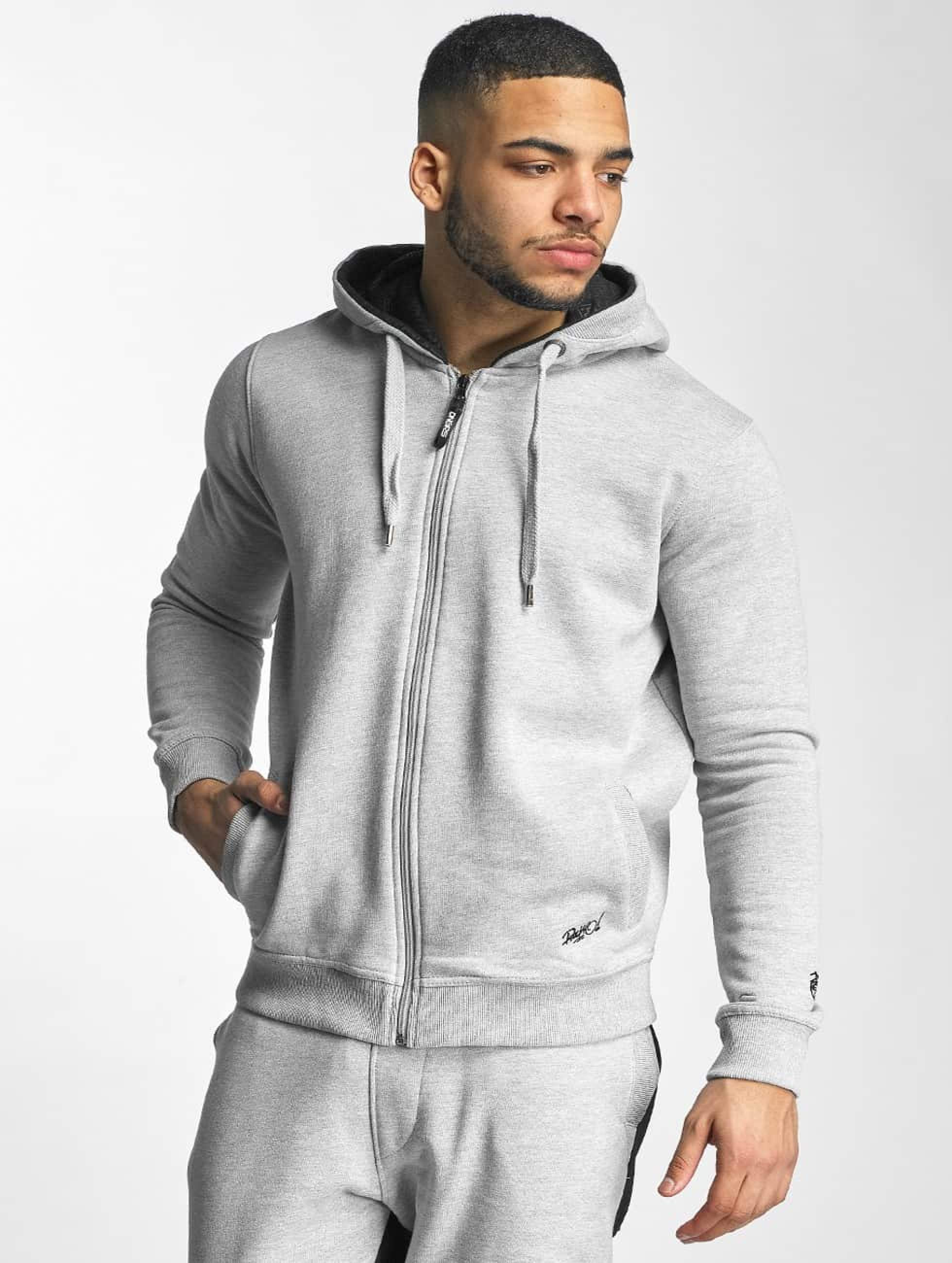 Dangerous DNGRS / Zip Hoodie Rocco Kingstyle in grey L