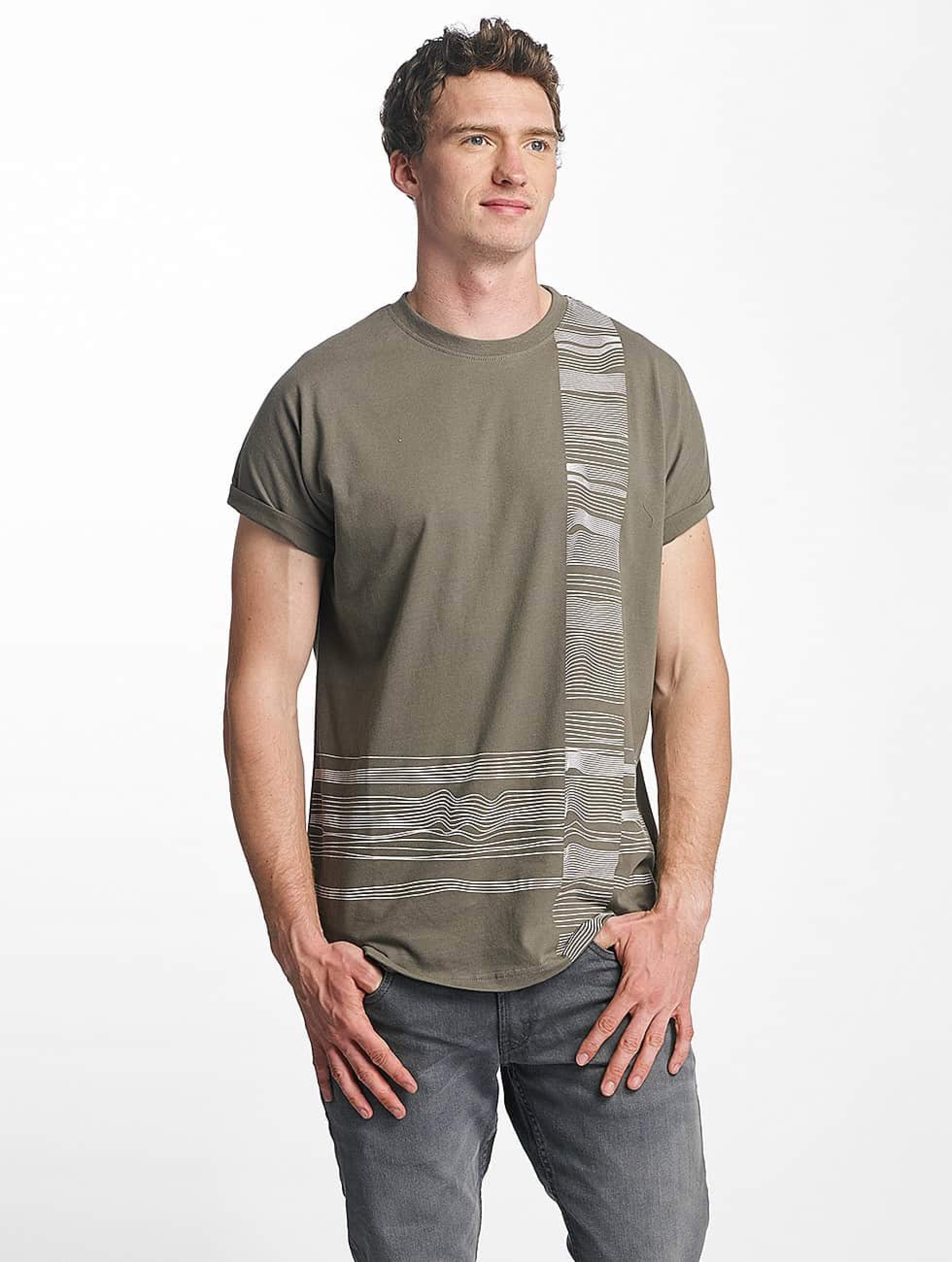 Just Rhyse / T-Shirt Morro Bay in olive S