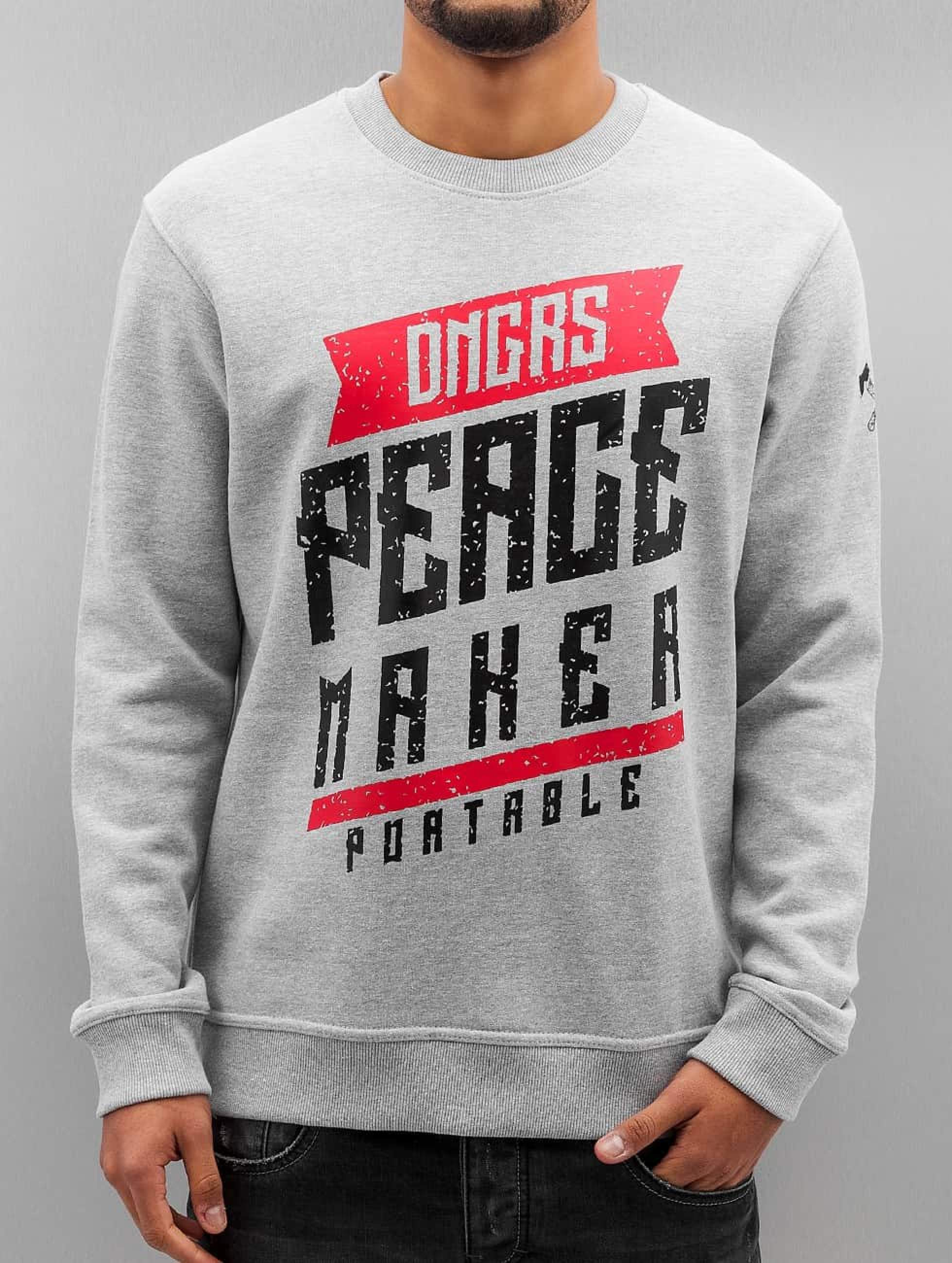 Dangerous DNGRS / Jumper Peacemaker in grey 3XL