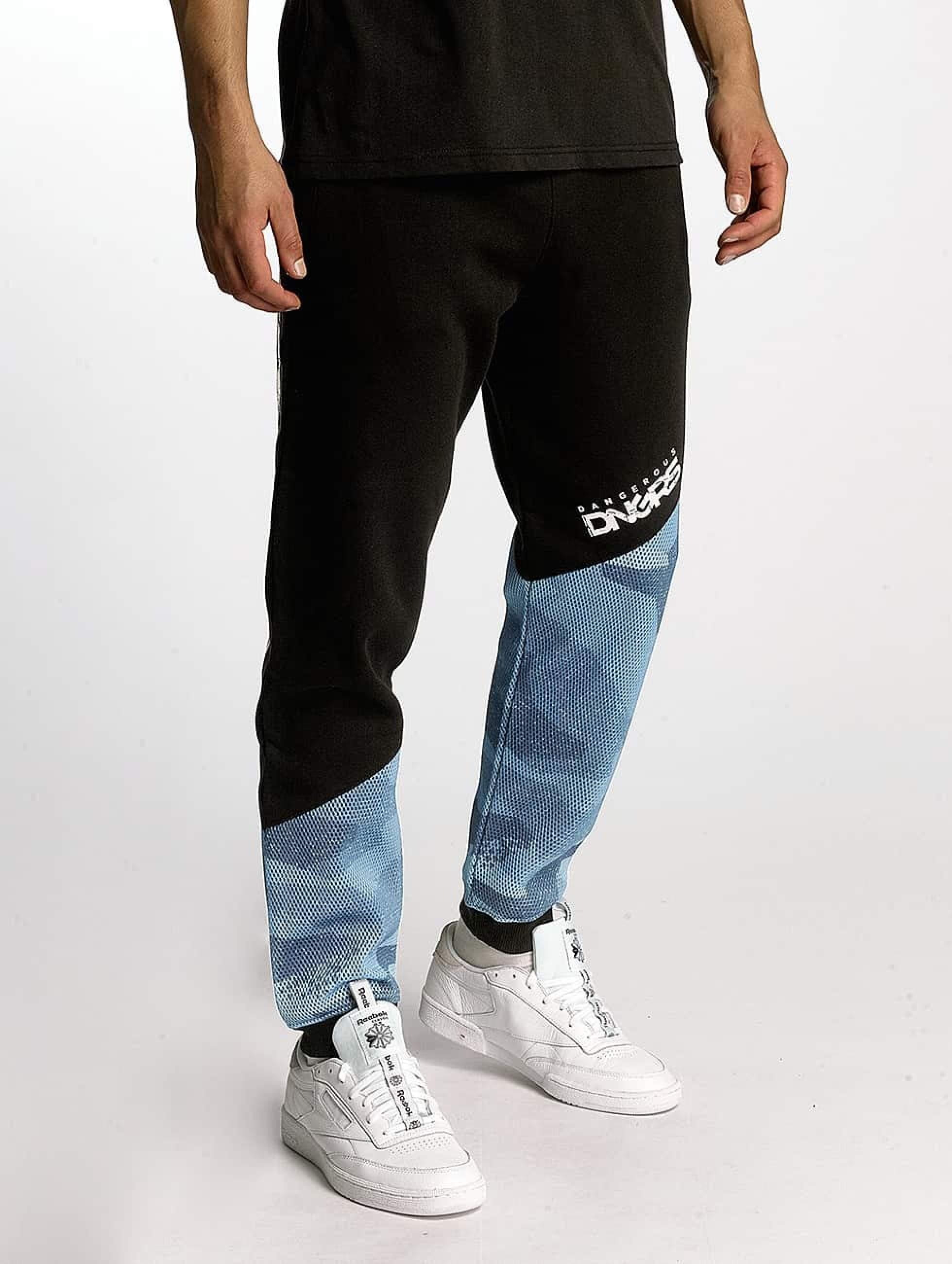 Dangerous DNGRS / Sweat Pant Breath in black L