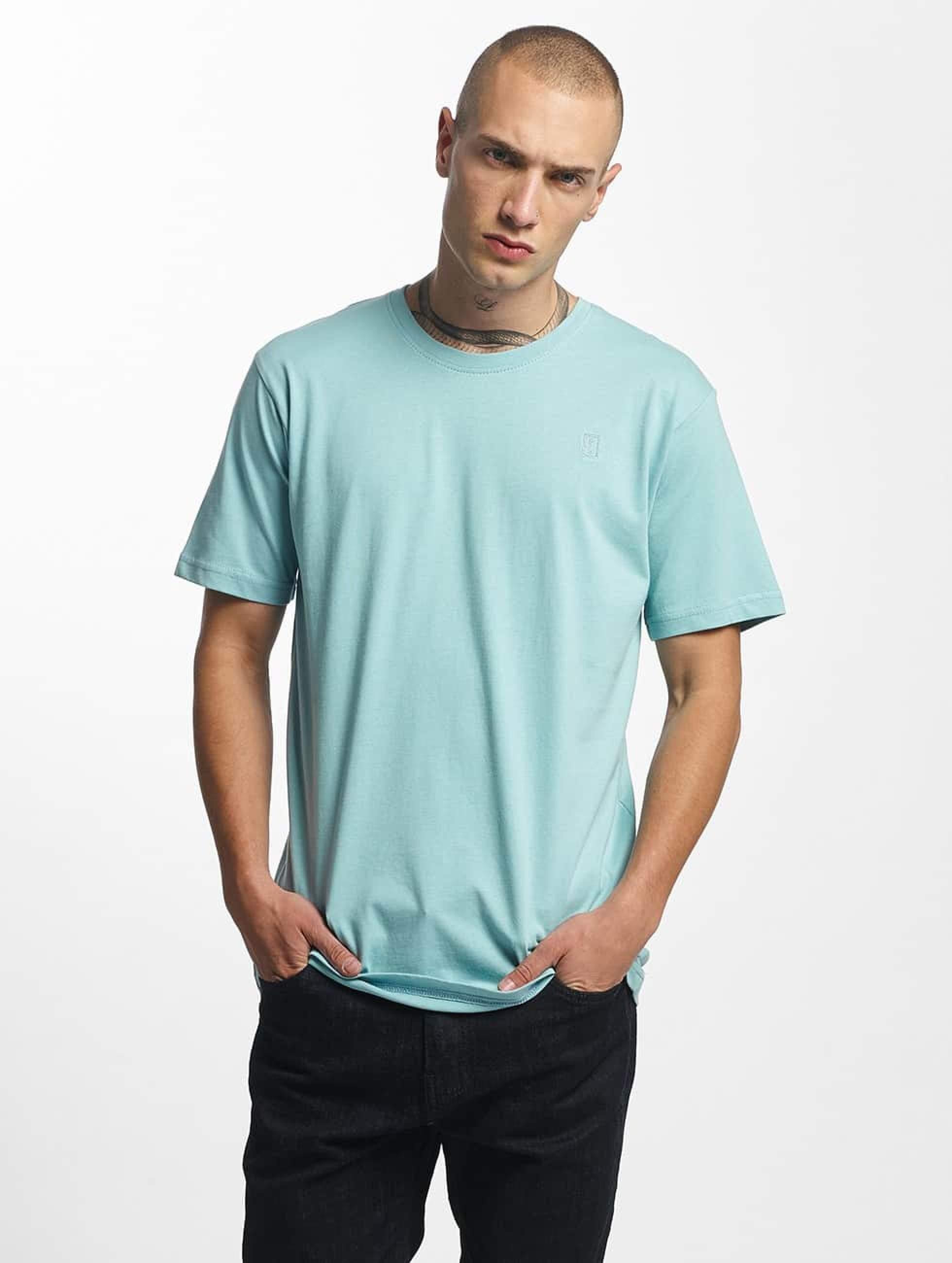 Cyprime / T-Shirt Titanium in turquoise S