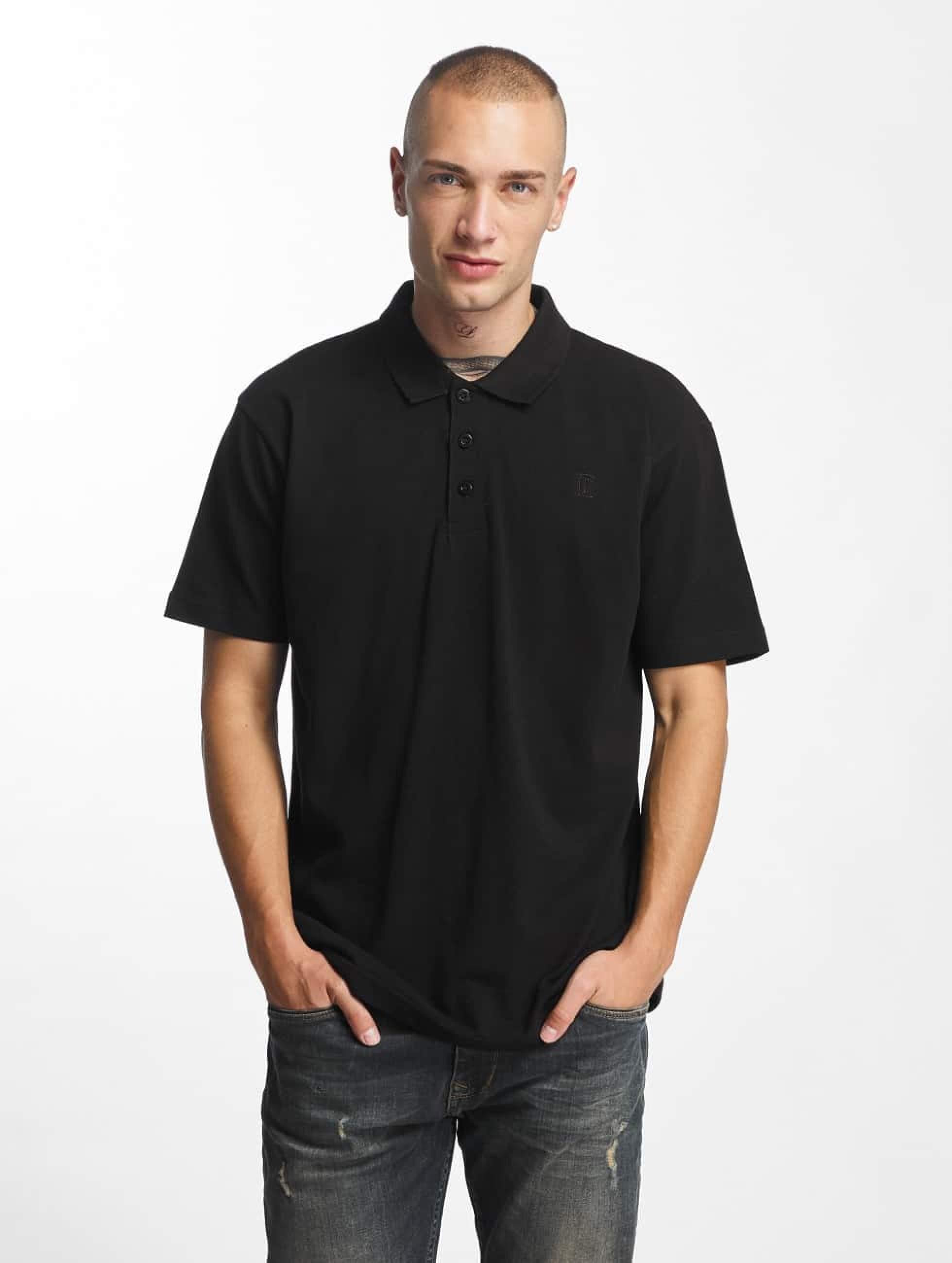 Cyprime / Poloshirt Plumbum in black S