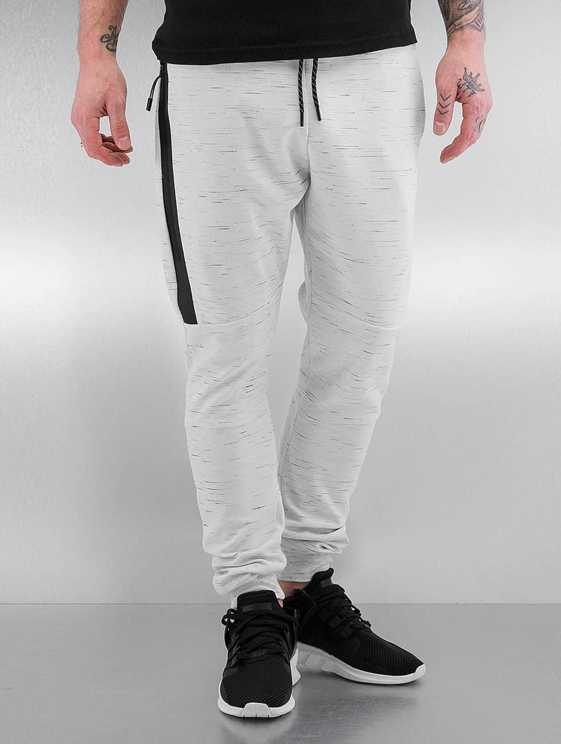 Who Shot Ya? / Sweat Pant Melange in white 2XL