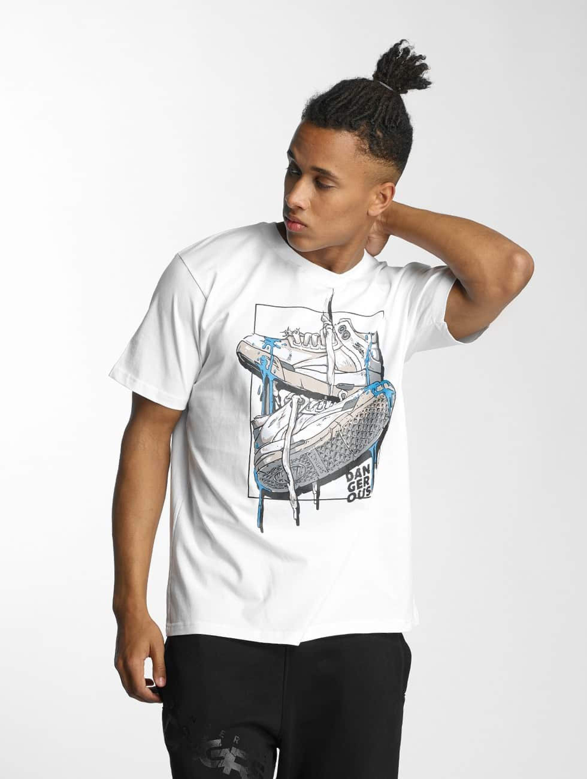Dangerous DNGRS / T-Shirt Sneaker in white L