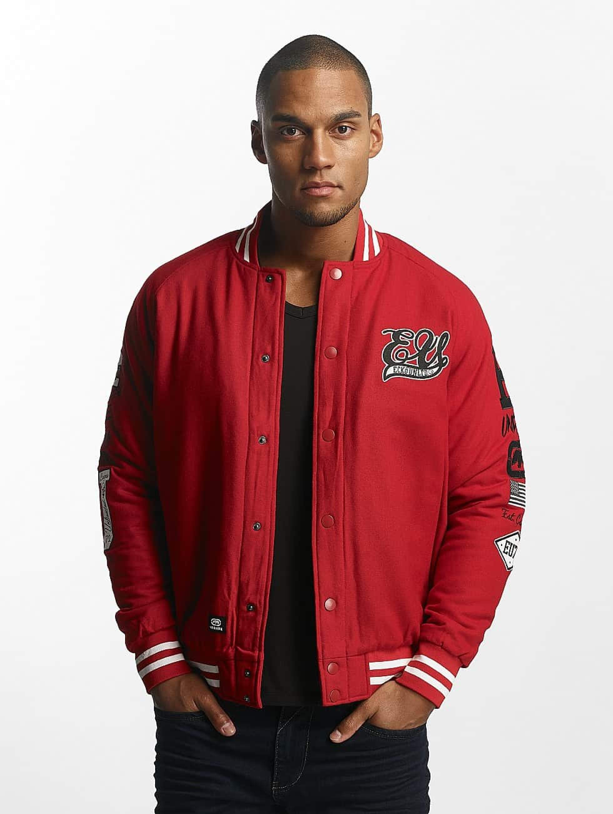 Ecko Unltd. / College Jacket Big Logo in red XL