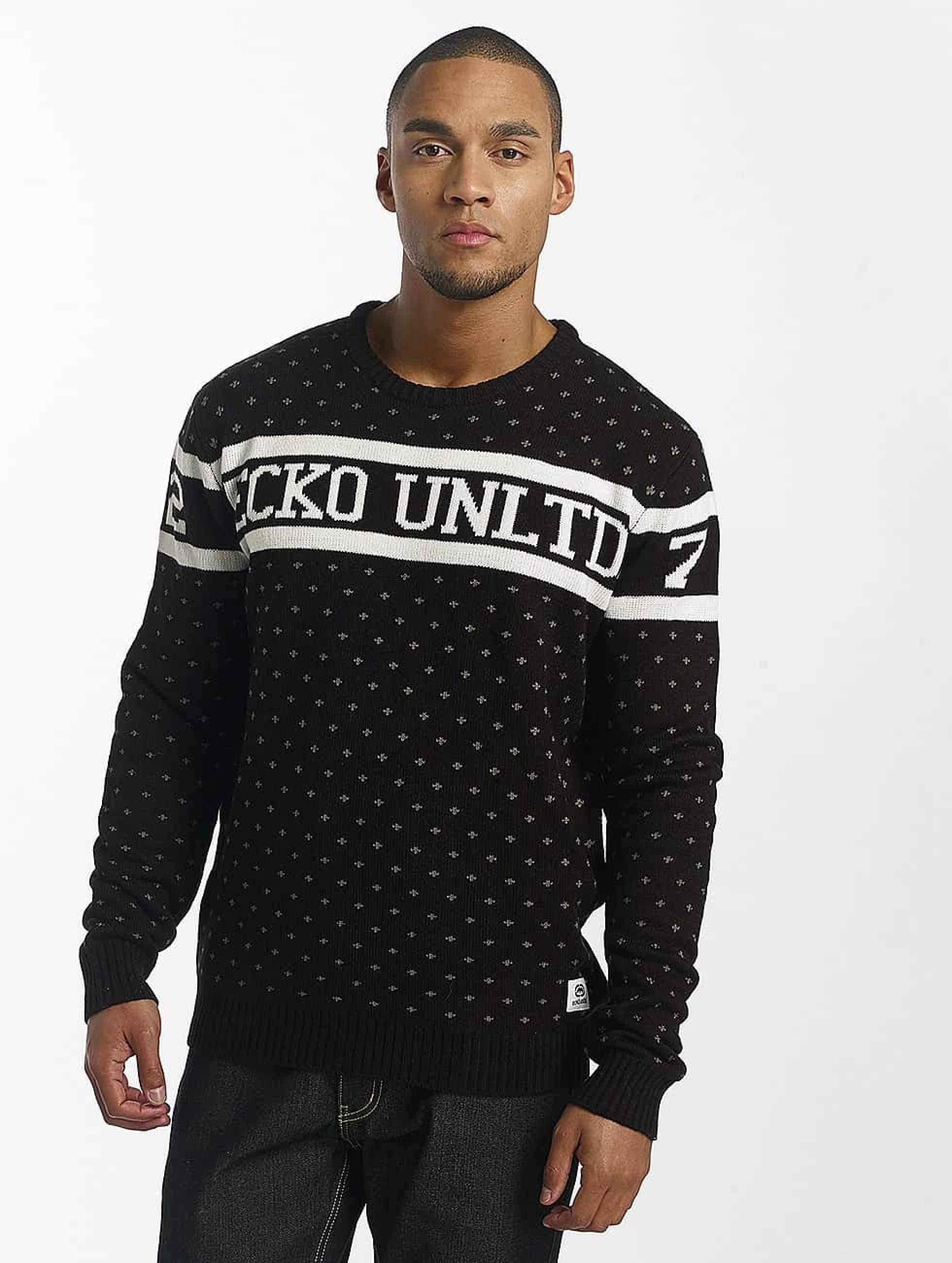 Ecko Unltd. / Jumper Winter in black S