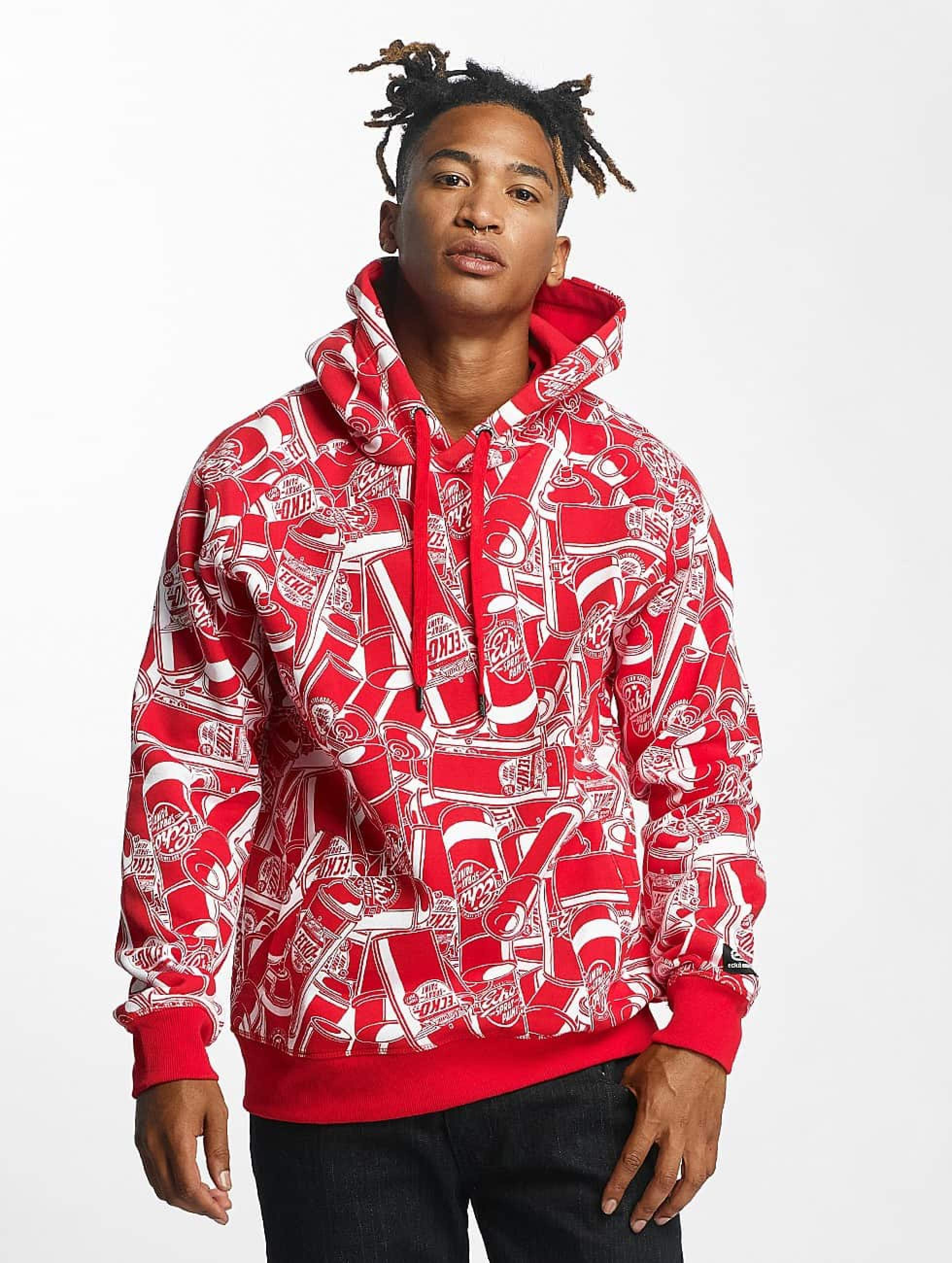 Ecko Unltd. / Hoodie Sprazpaint in red L