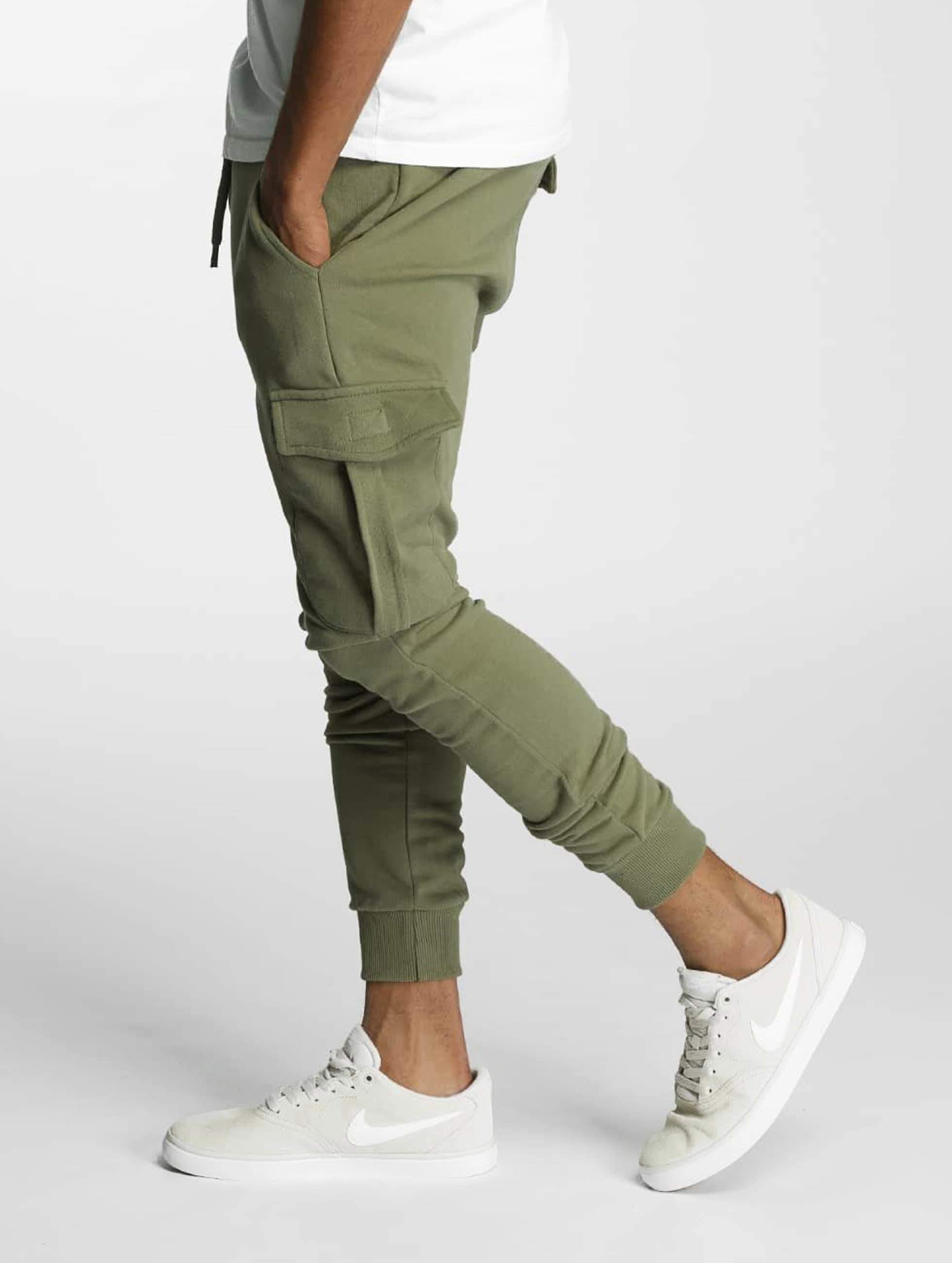 DEF / Sweat Pant Gringo in olive S