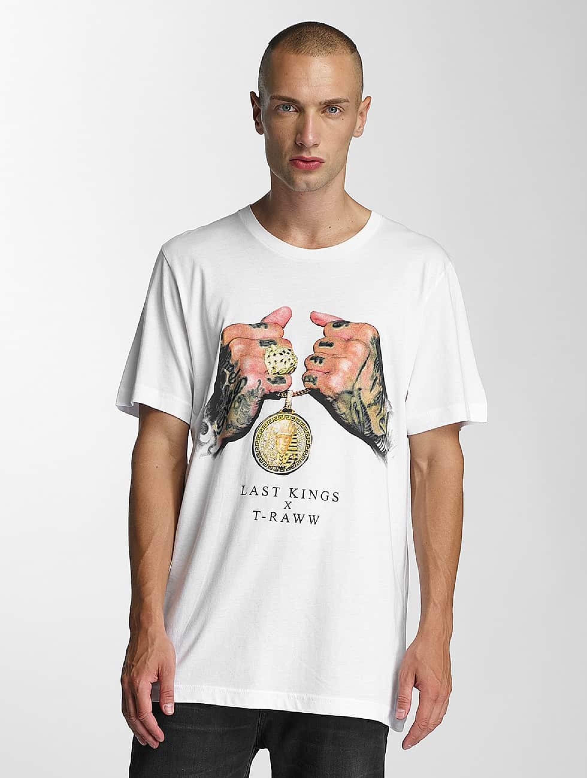 Last Kings   LK Rep blanc Homme T-Shirt