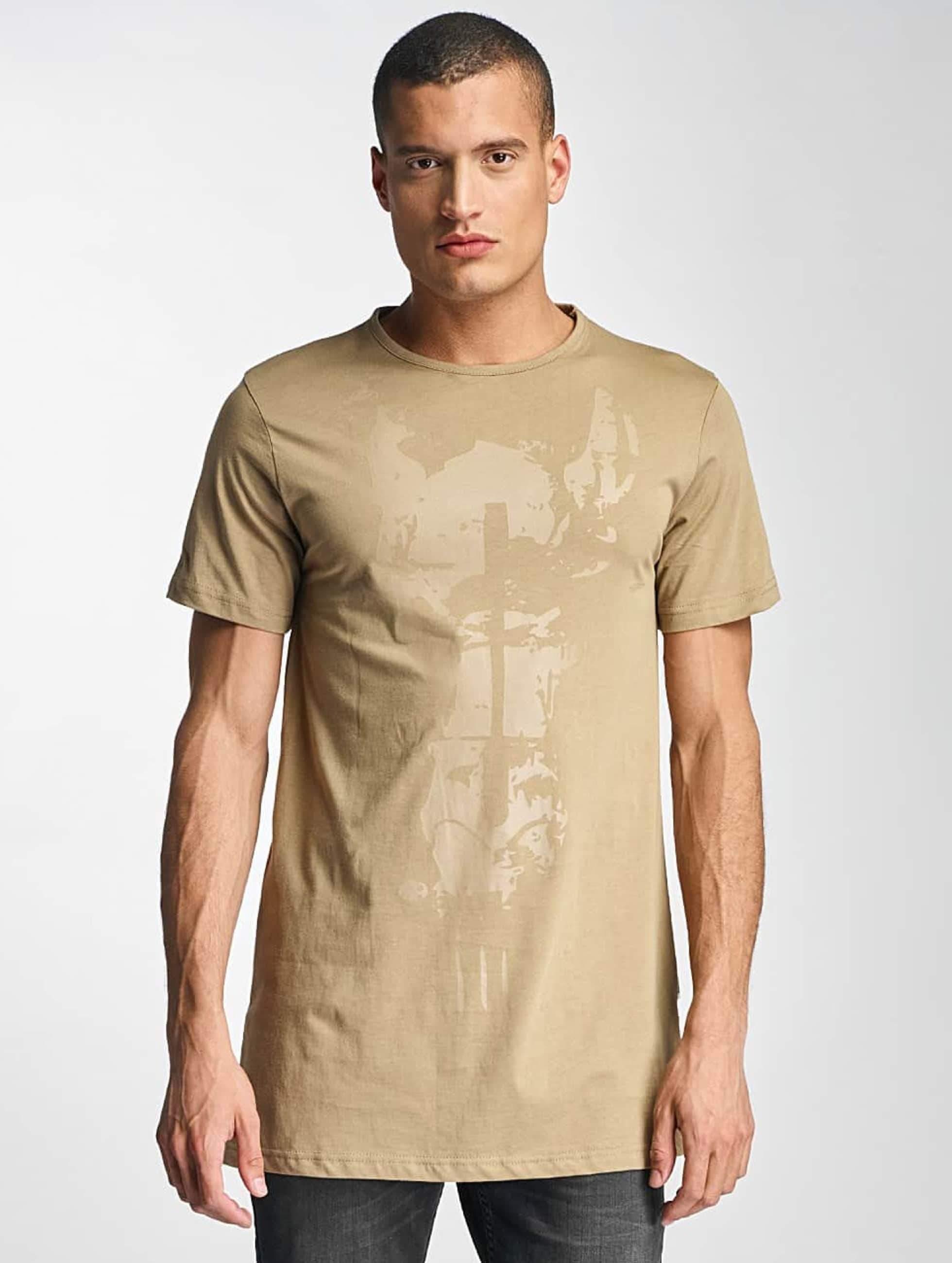 De Ferro / T-Shirt Streets in beige 2XL