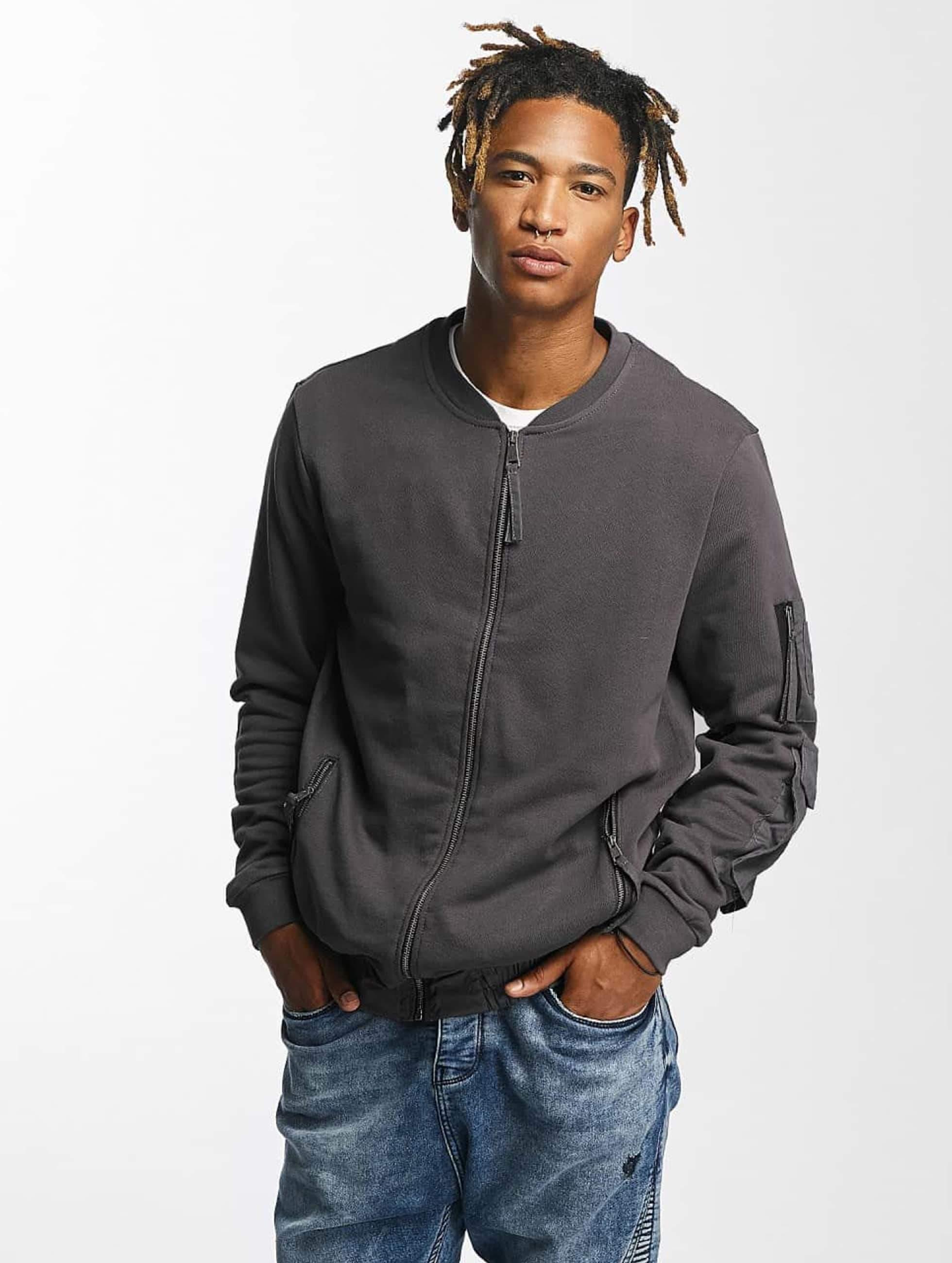 Bangastic / Bomber jacket Ontario in grey S