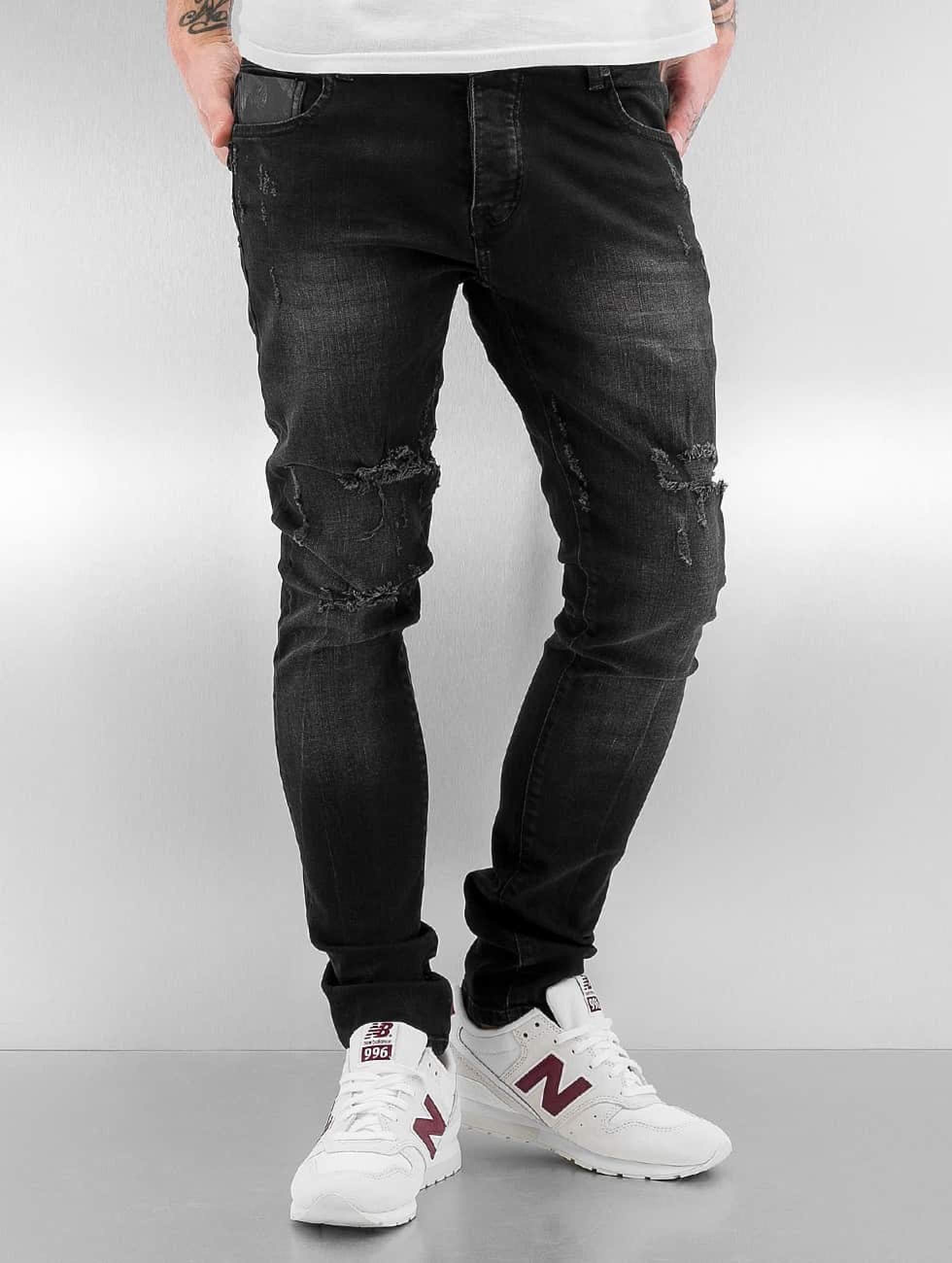 2Y / Skinny Jeans Obbo in black W 34