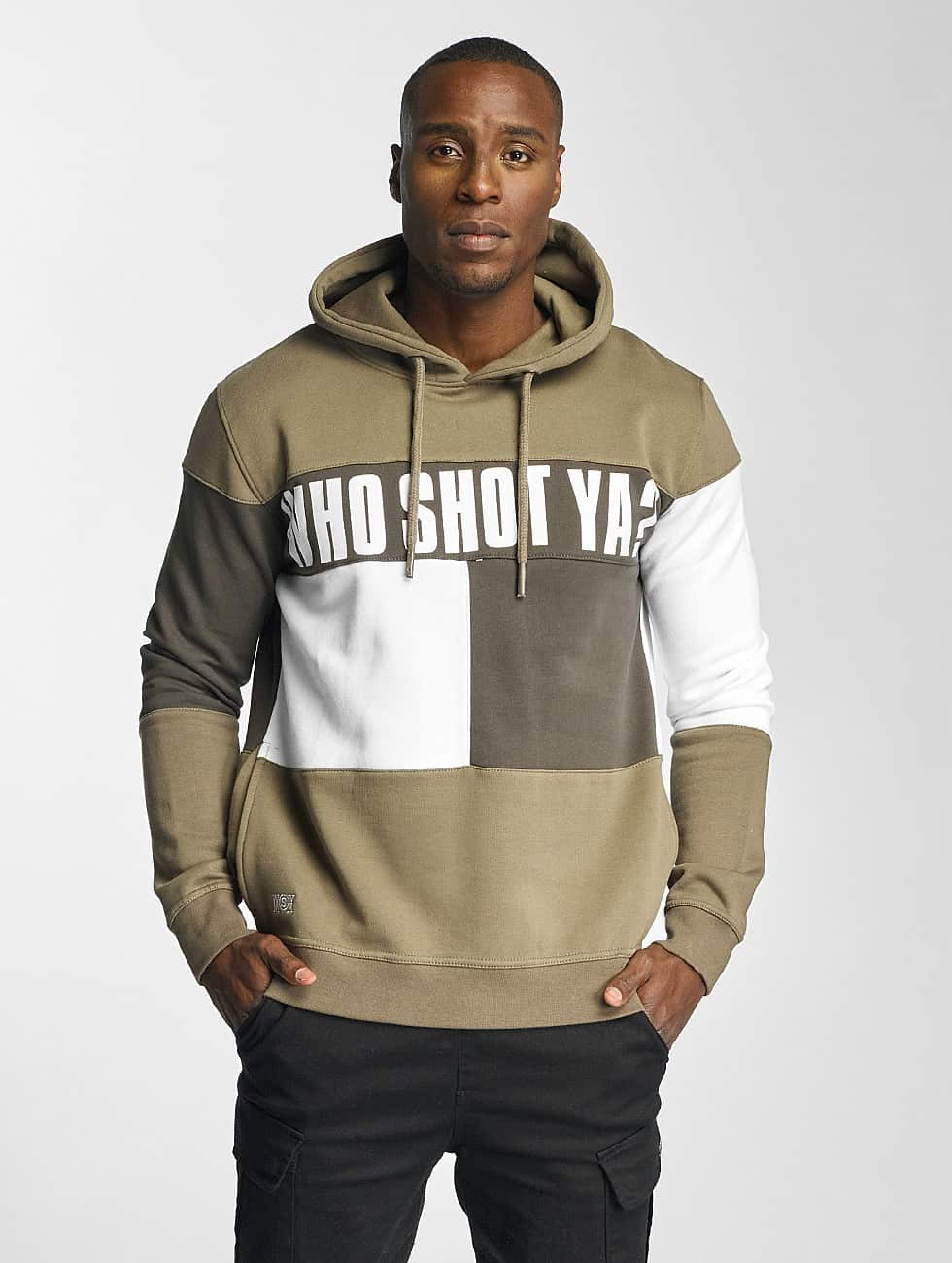 Who Shot Ya? / Hoodie This Tao in beige M