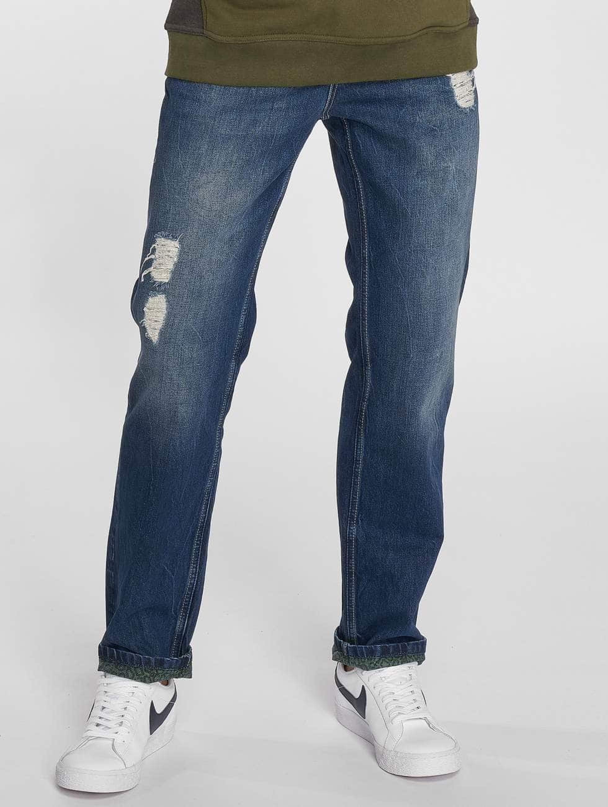 Just Rhyse / Straight Fit Jeans Mattia in blue W 33 L 34