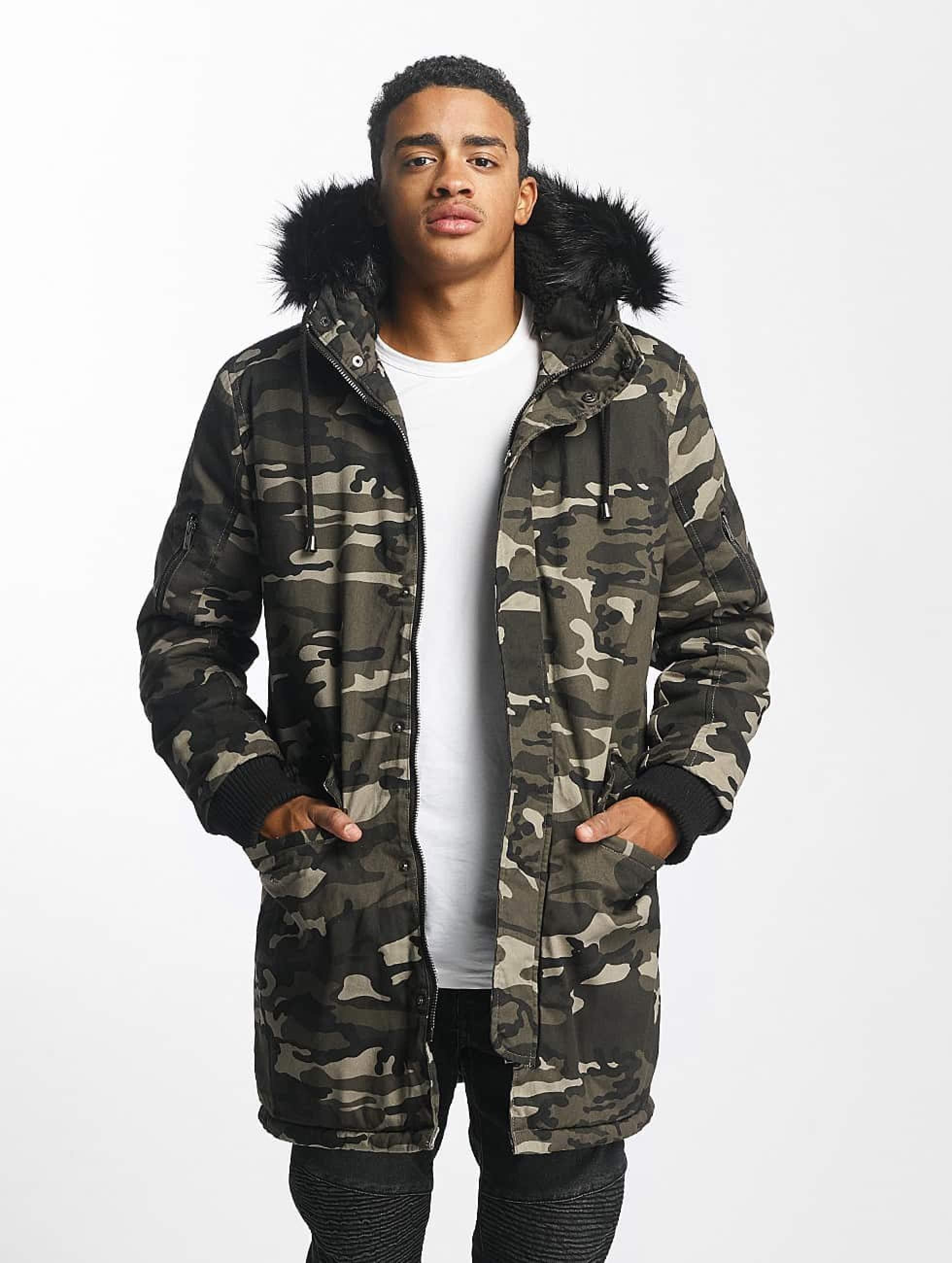 DEF Camouflage Winterjacke