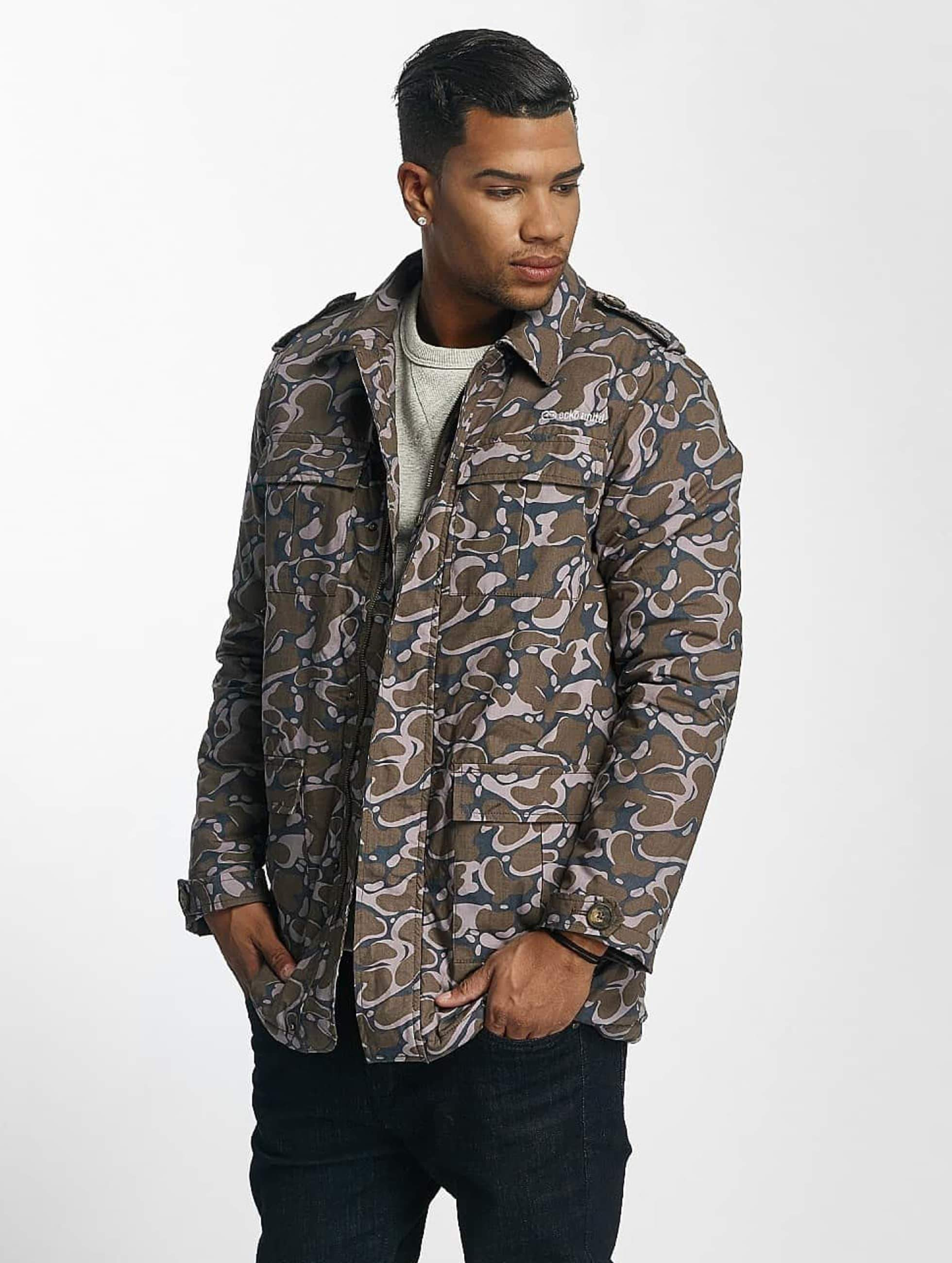 Ecko Unltd. / Lightweight Jacket Corporal in camouflage 2XL