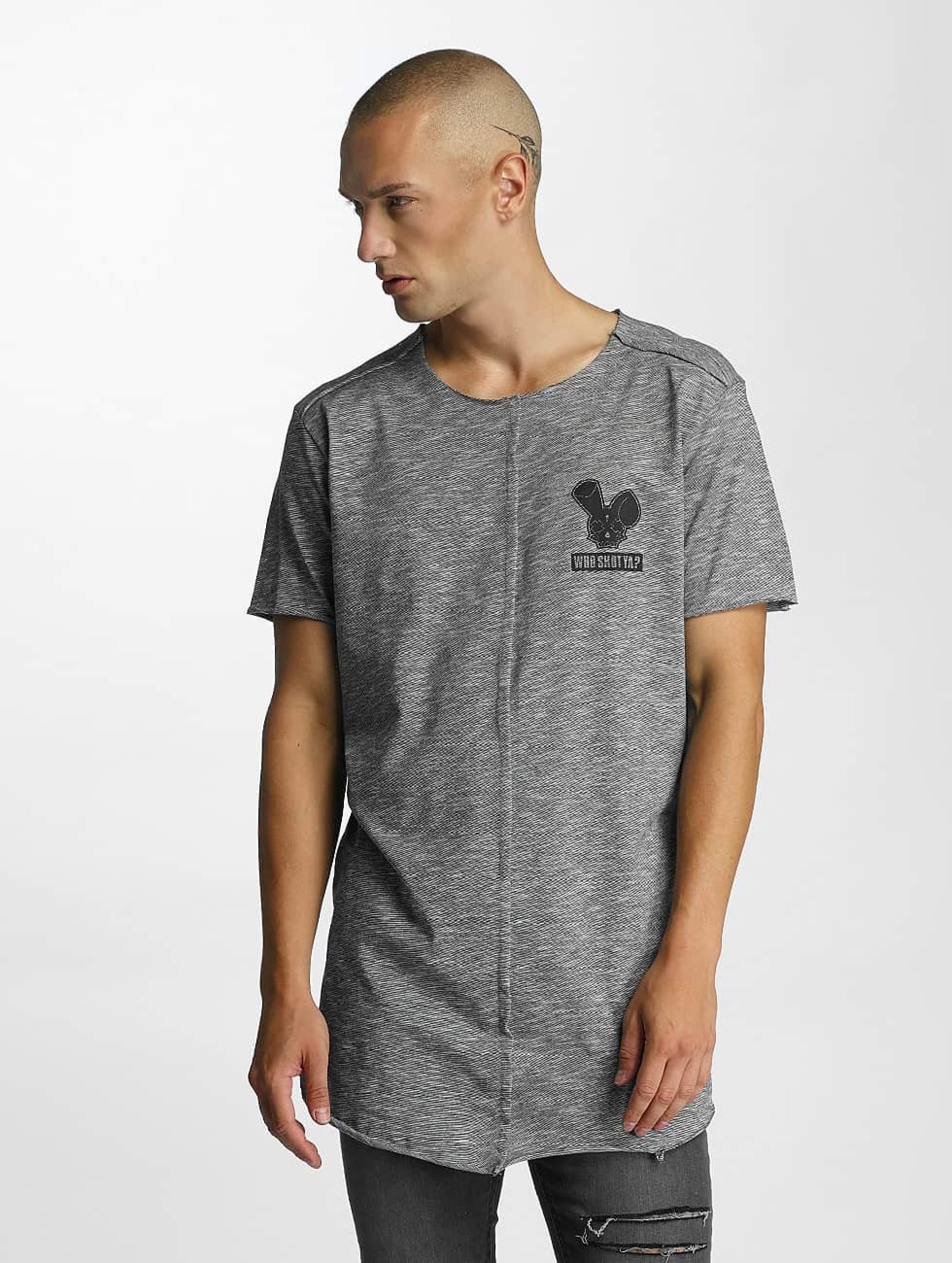 Who Shot Ya? / T-Shirt Kochi in grey S