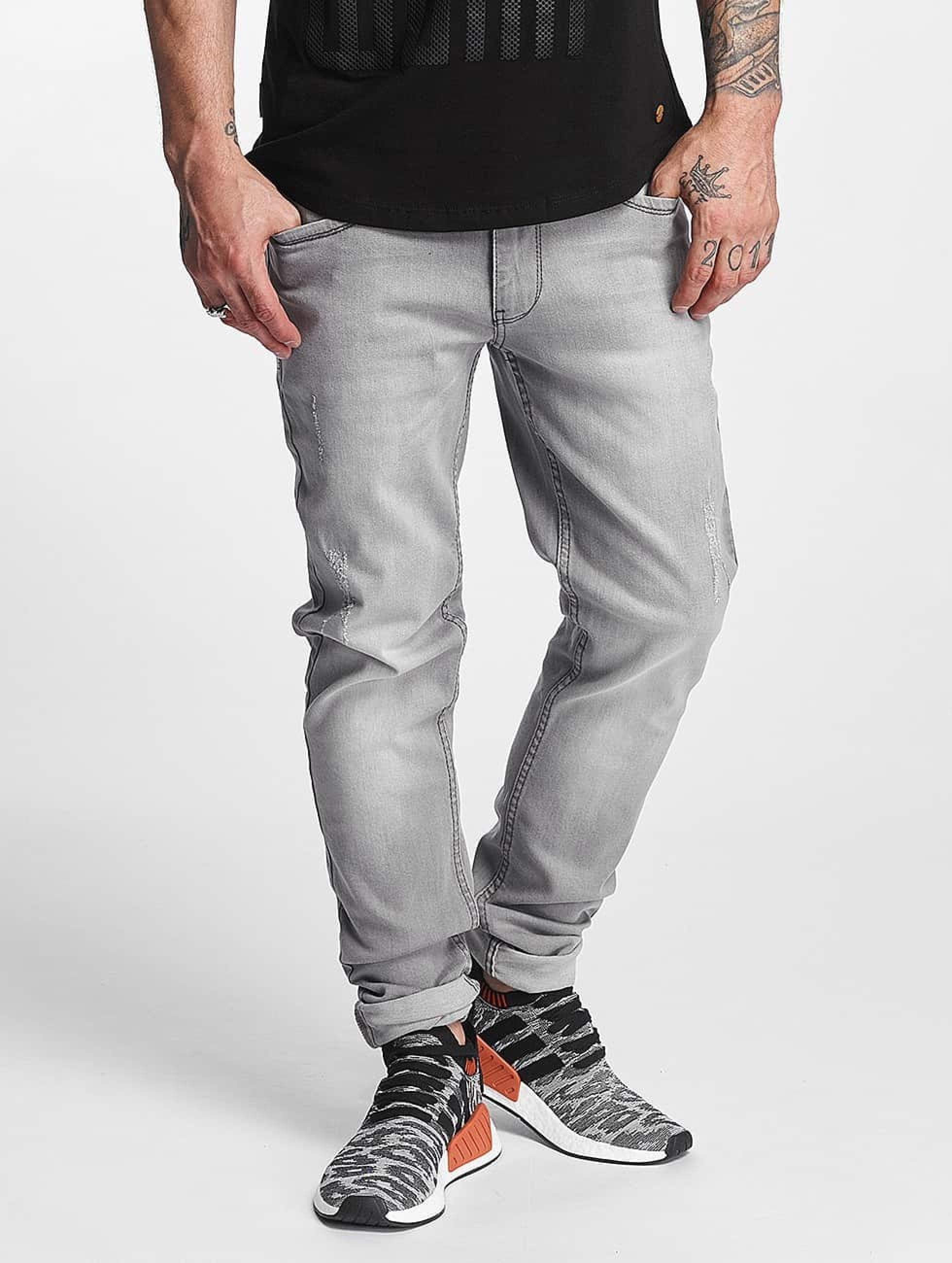 Rocawear / Straight Fit Jeans Pune in grey W 31