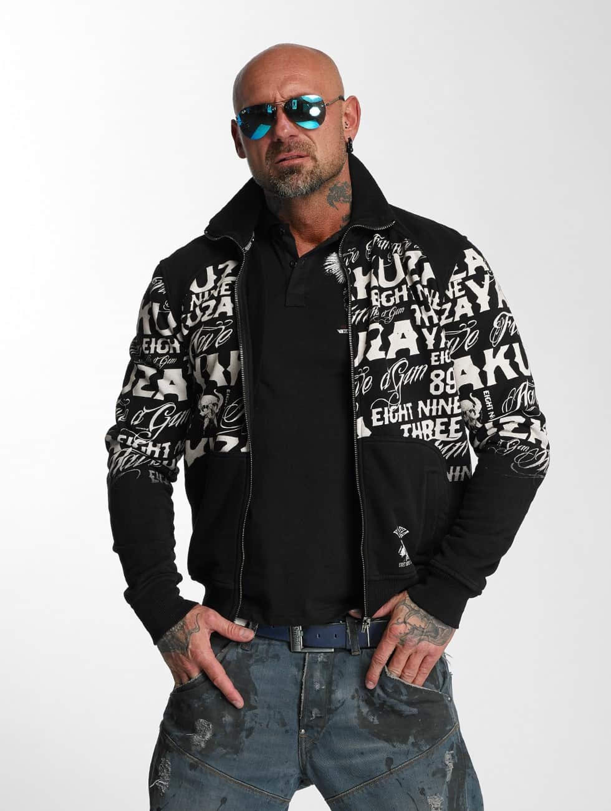 Yakuza | Allover Label  noir Homme Veste mi-saison légère