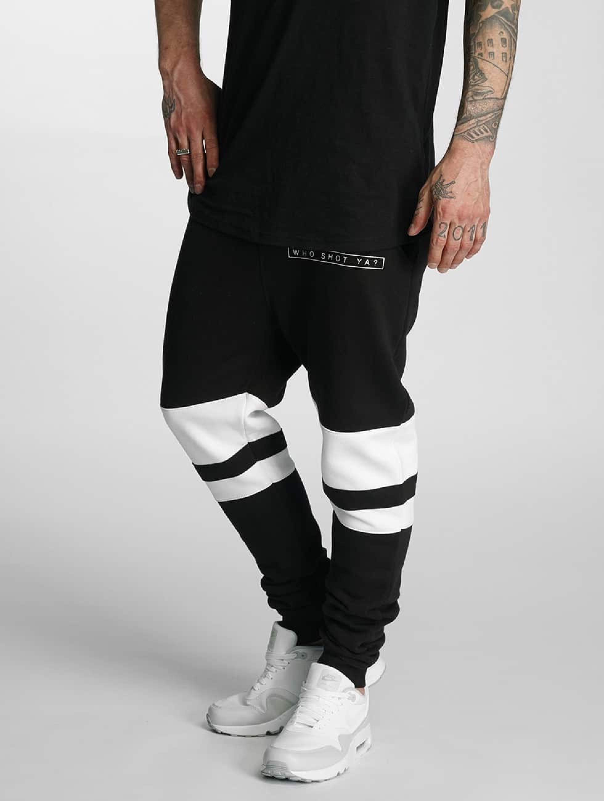 Who Shot Ya? / Sweat Pant Mysore in black 3XL